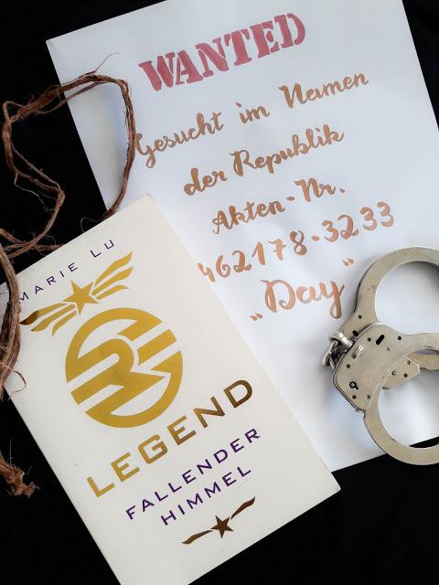 Legend, Fallender Himmel – Marie Lu graphic