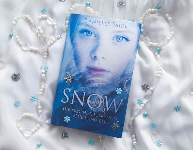 SNOW, Die Prophezeiung von Feuer und Eis – Danielle Paige graphic