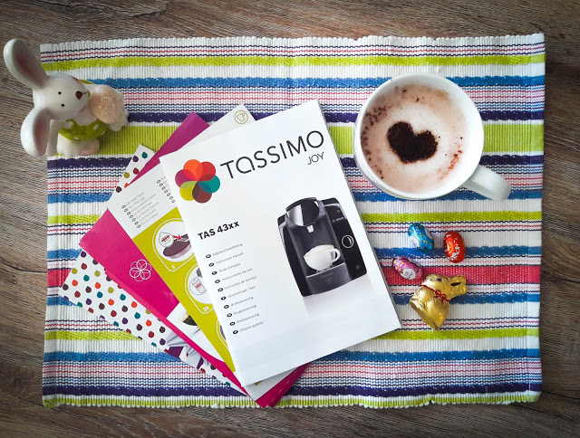 TASSIMO Joy – April I. graphic