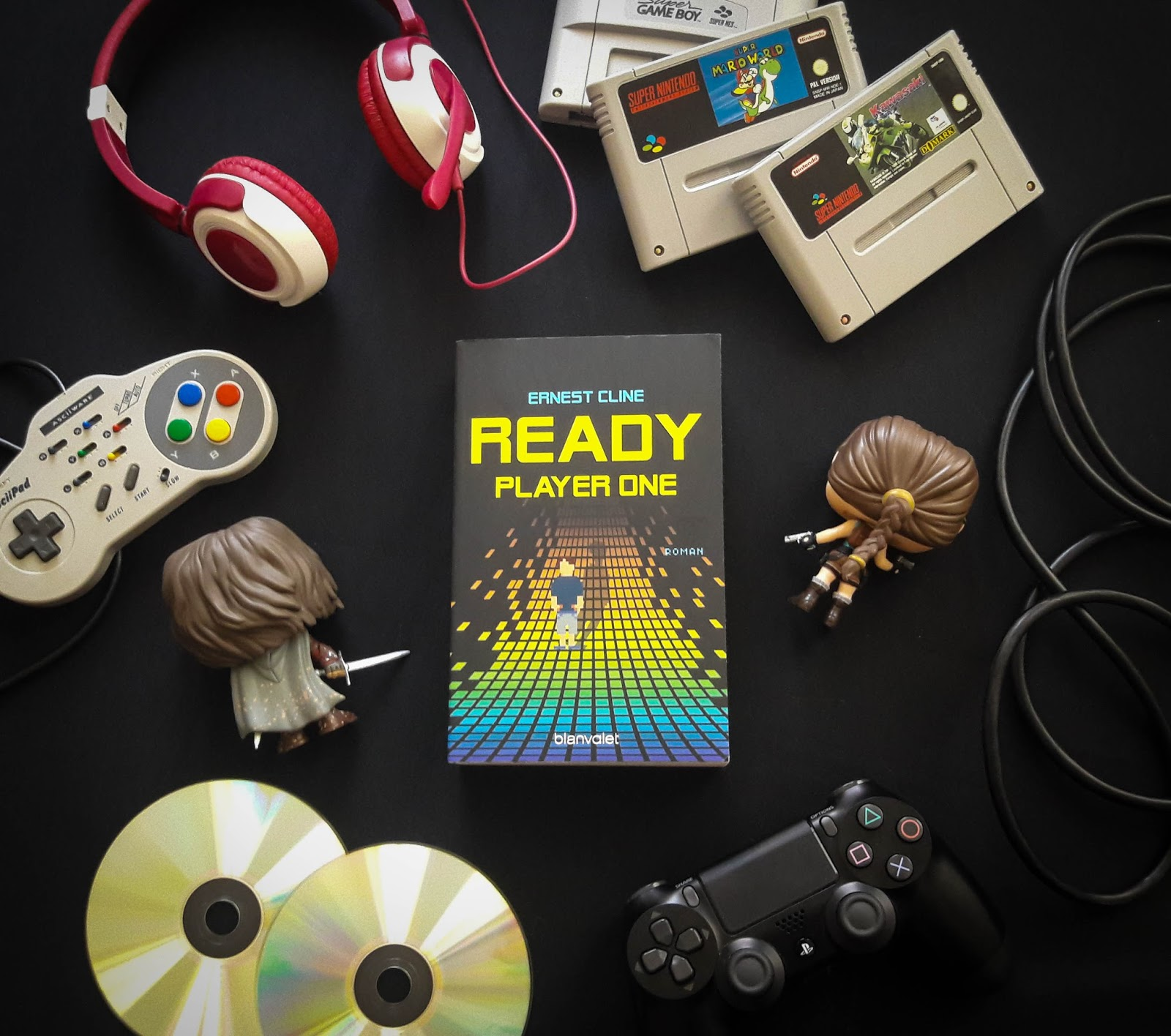 READY PLAYER ONE – Ernest Cline graphic