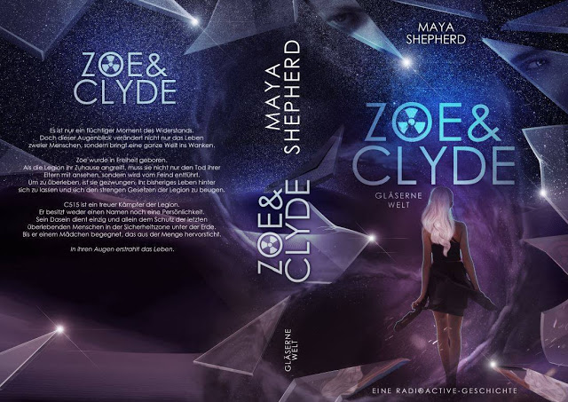 Coverrelease: Zoe & Clyde, Gläserne Welt graphic