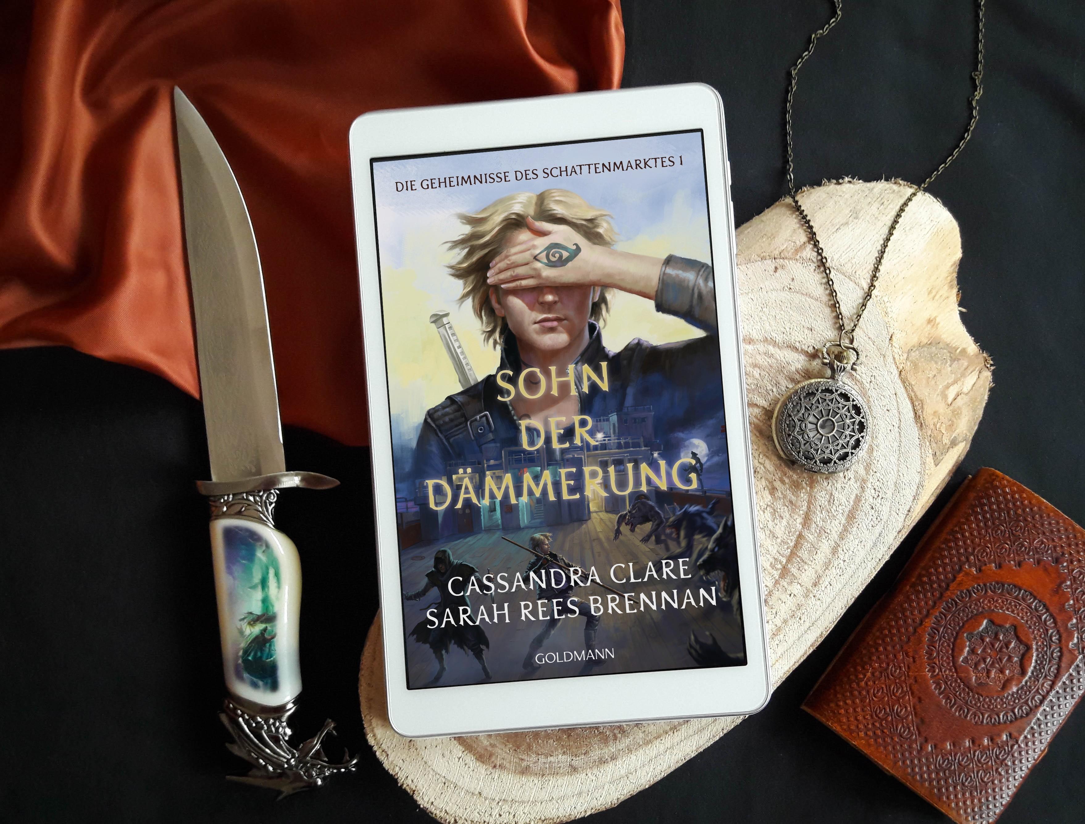 Sohn der Dämmerung: Die Geheimnisse des Schattenmarktes 1 – Cassandra Clare und Sarah Rees Brennan graphic