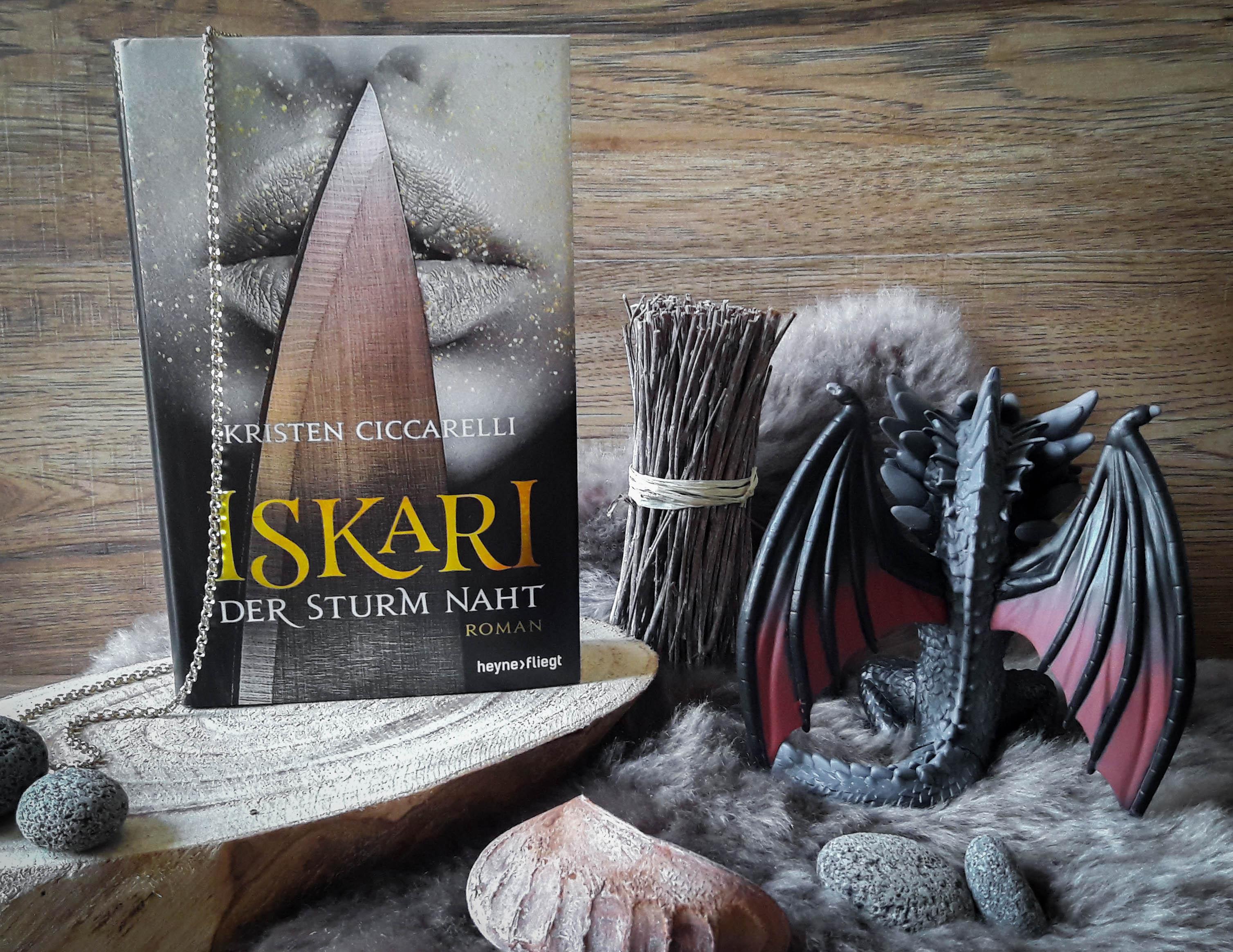 Iskari, Der Sturm naht – Kristen Ciccarelli graphic
