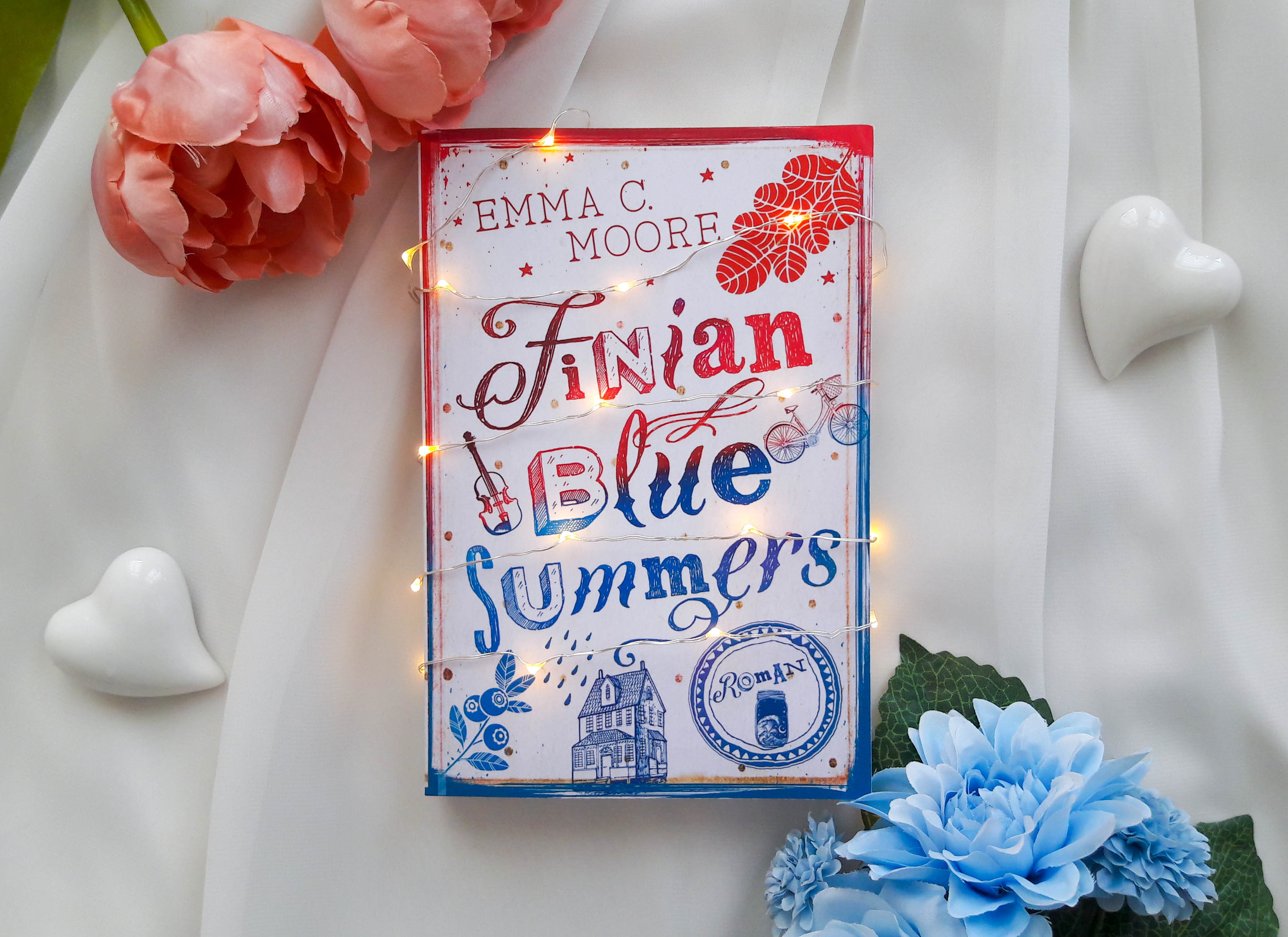 Finian Blue Summers (Say Something) – Emma C. Moore graphic