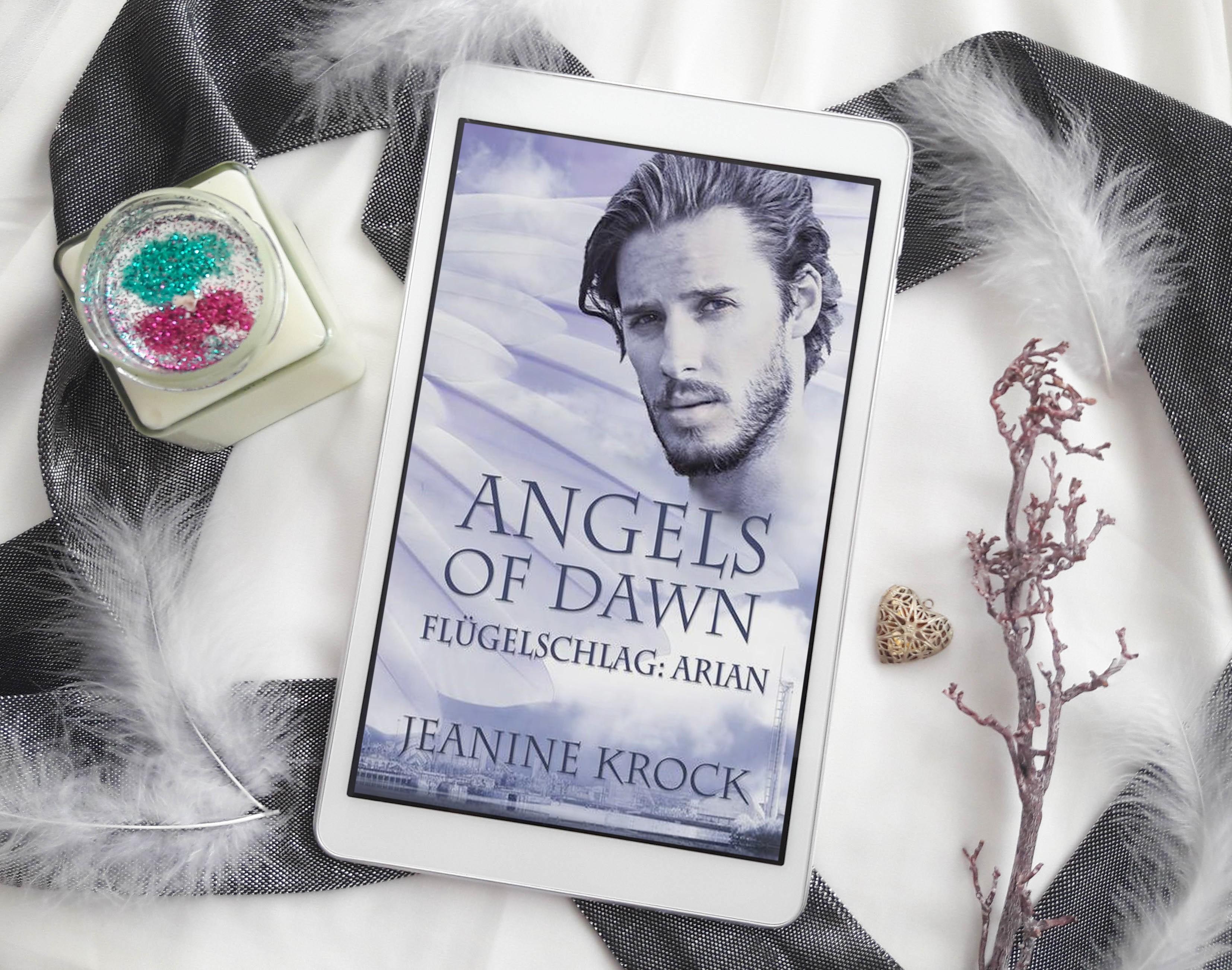 Angels of Dawn – Flügelschlag: Arian – Jeanine Krock graphic
