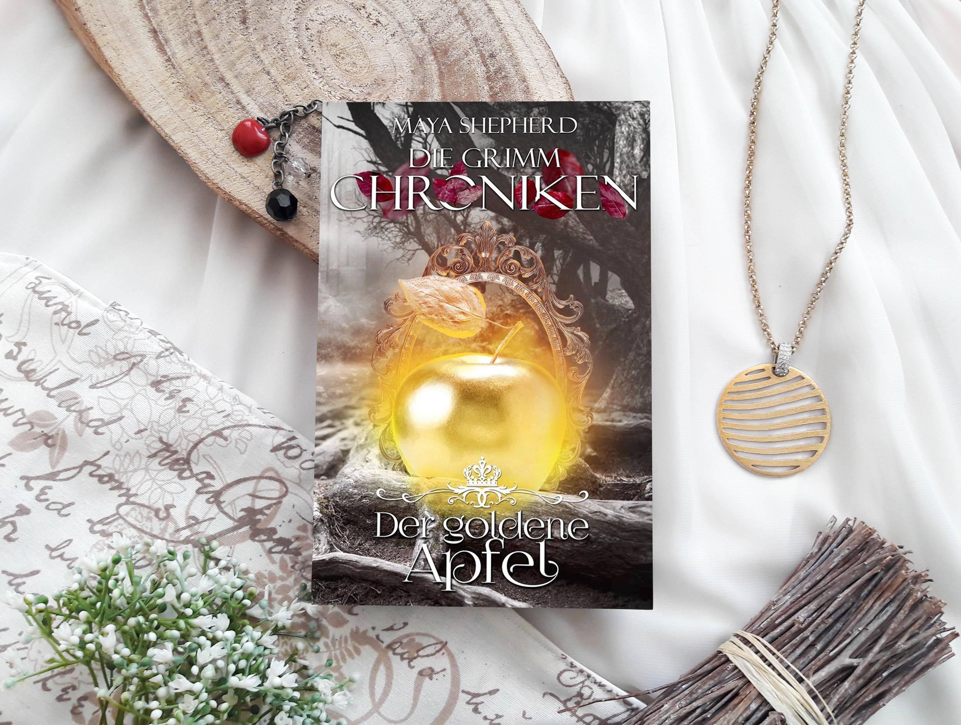 Die Grimm-Chroniken: Der goldene Apfel – Maya Shepherd graphic