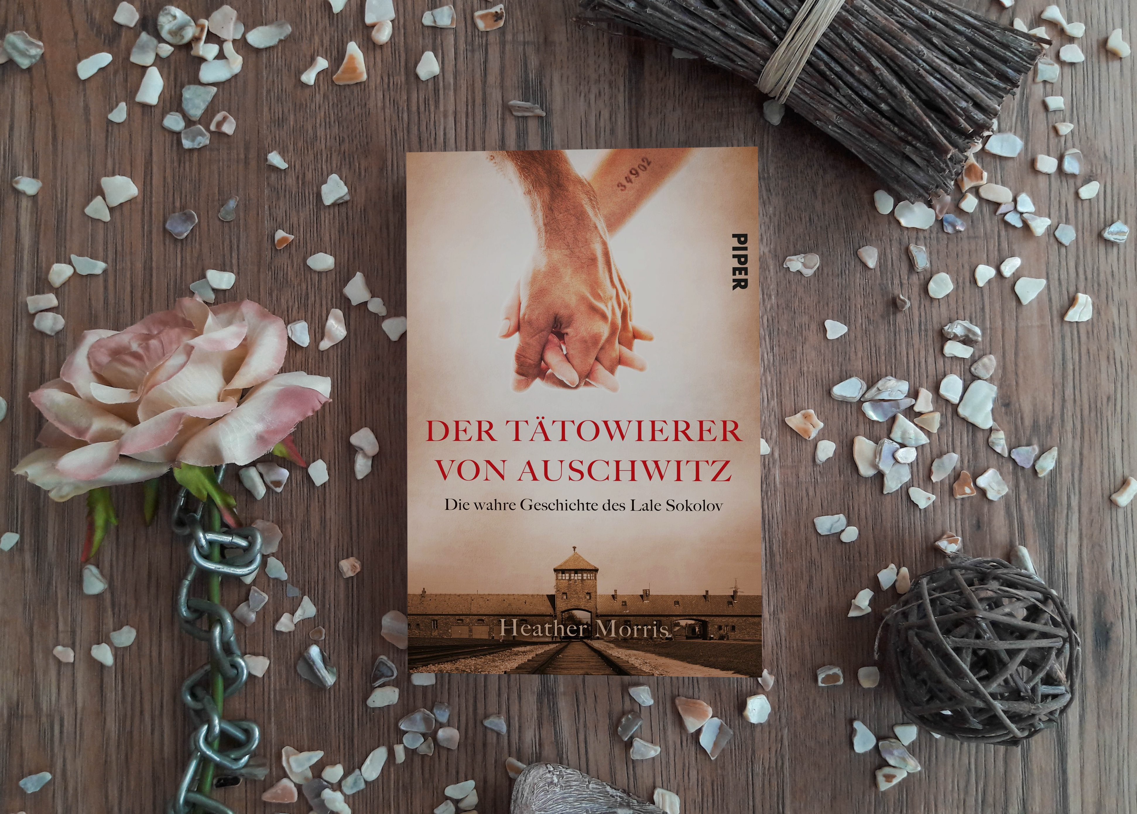 Der Tätowierer von Auschwitz – Heather Morris graphic