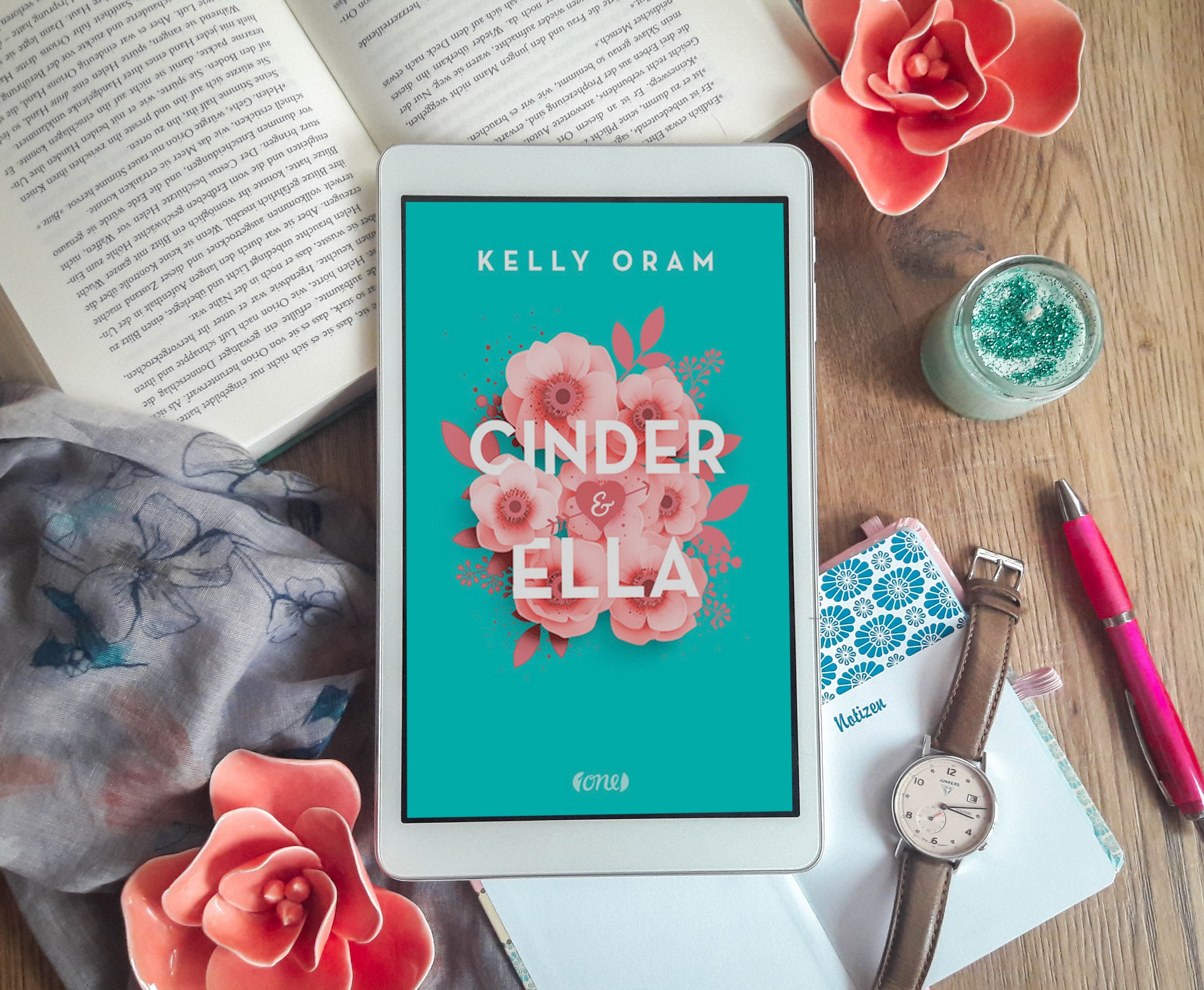 Cinder & Ella – Kelly Oram graphic