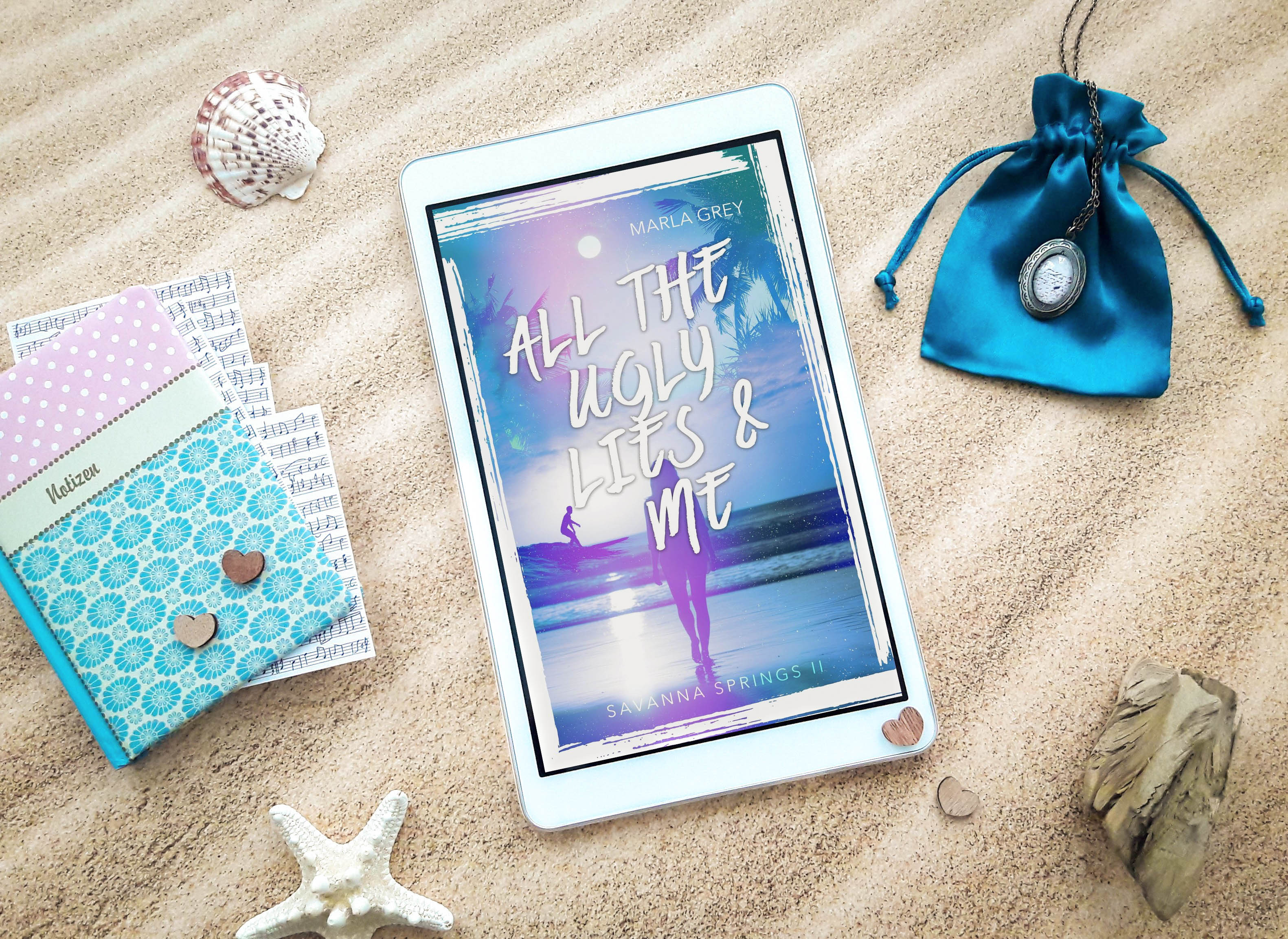 All the ugly lies and me: Savanna Springs 2 – Marla Grey graphic