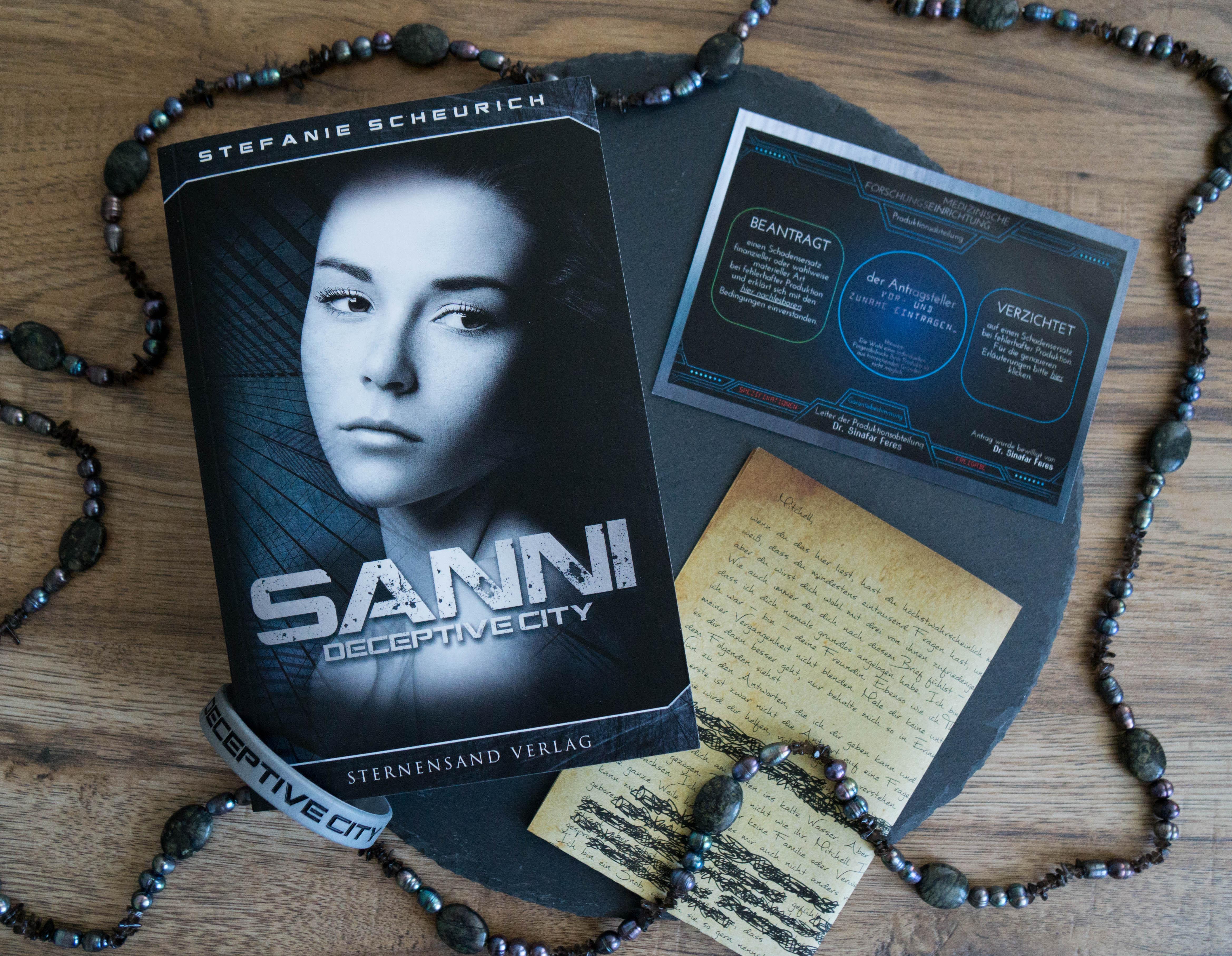 Sanni: Prequel zu Deceptive City – Stefanie Scheurich graphic