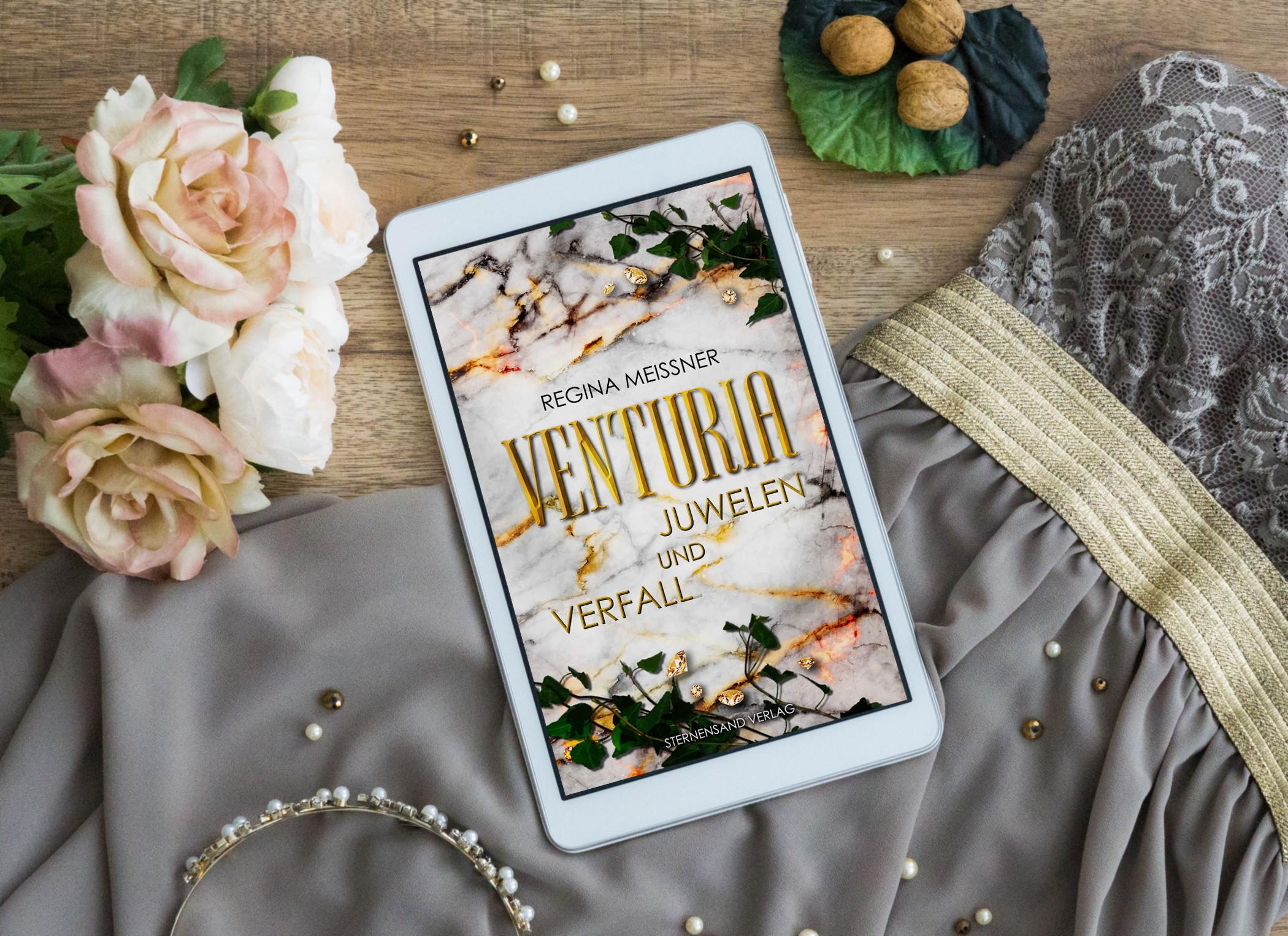 Venturia: Juwelen und Verfall – Regina Meißner graphic