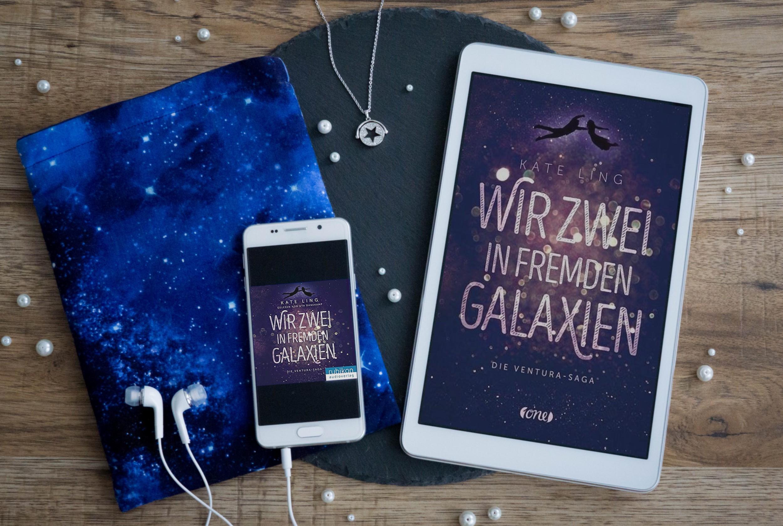 Wir zwei in fremden Galaxien: Die Ventura-Saga 1 – Kate Ling graphic