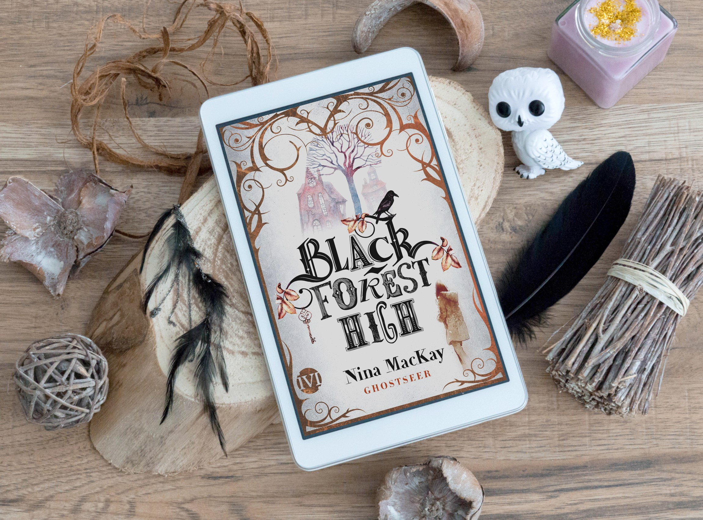 Black Forest High: Ghostseer – Nina MacKay graphic