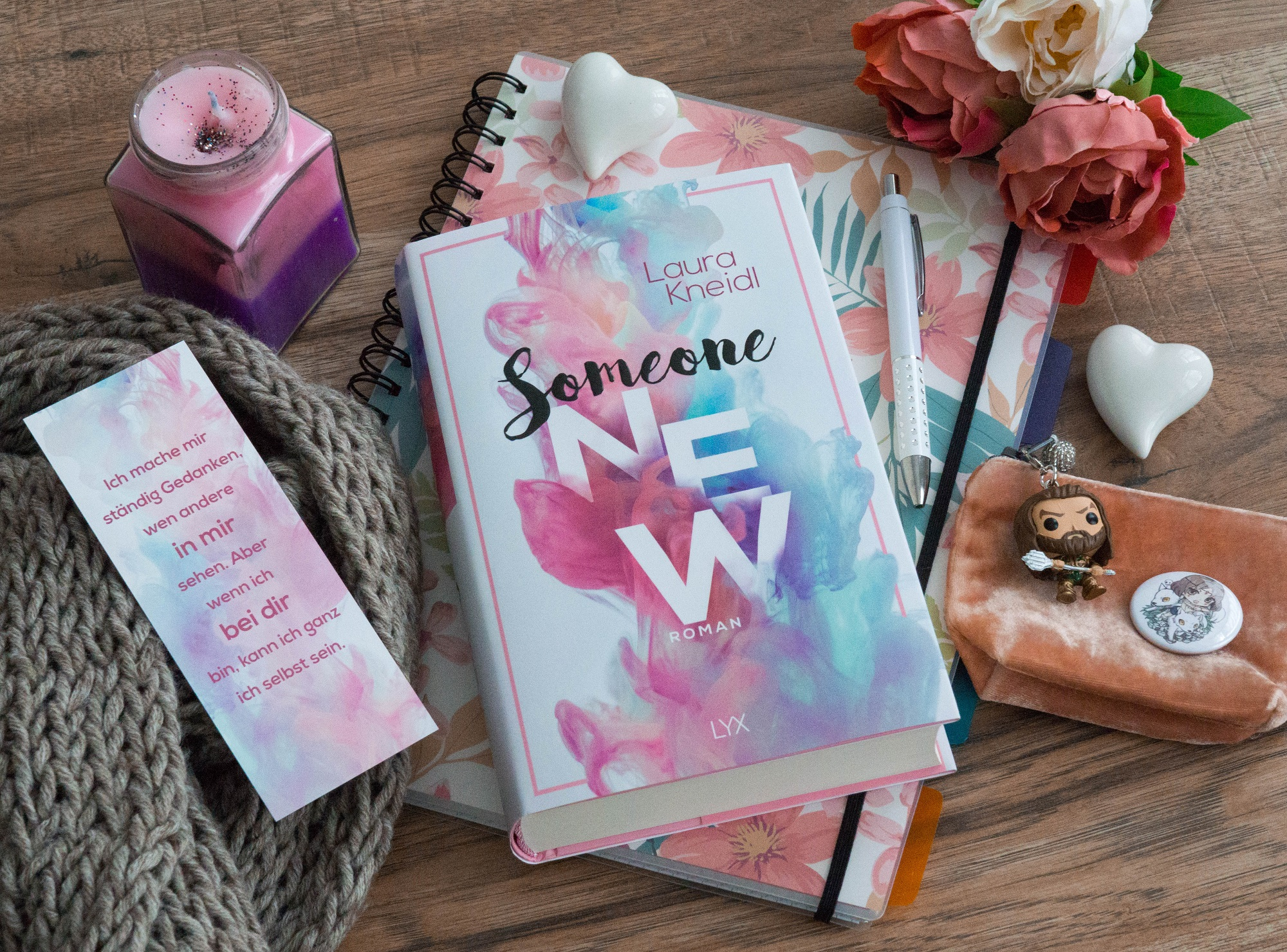 Someone New – Laura Kneidl graphic