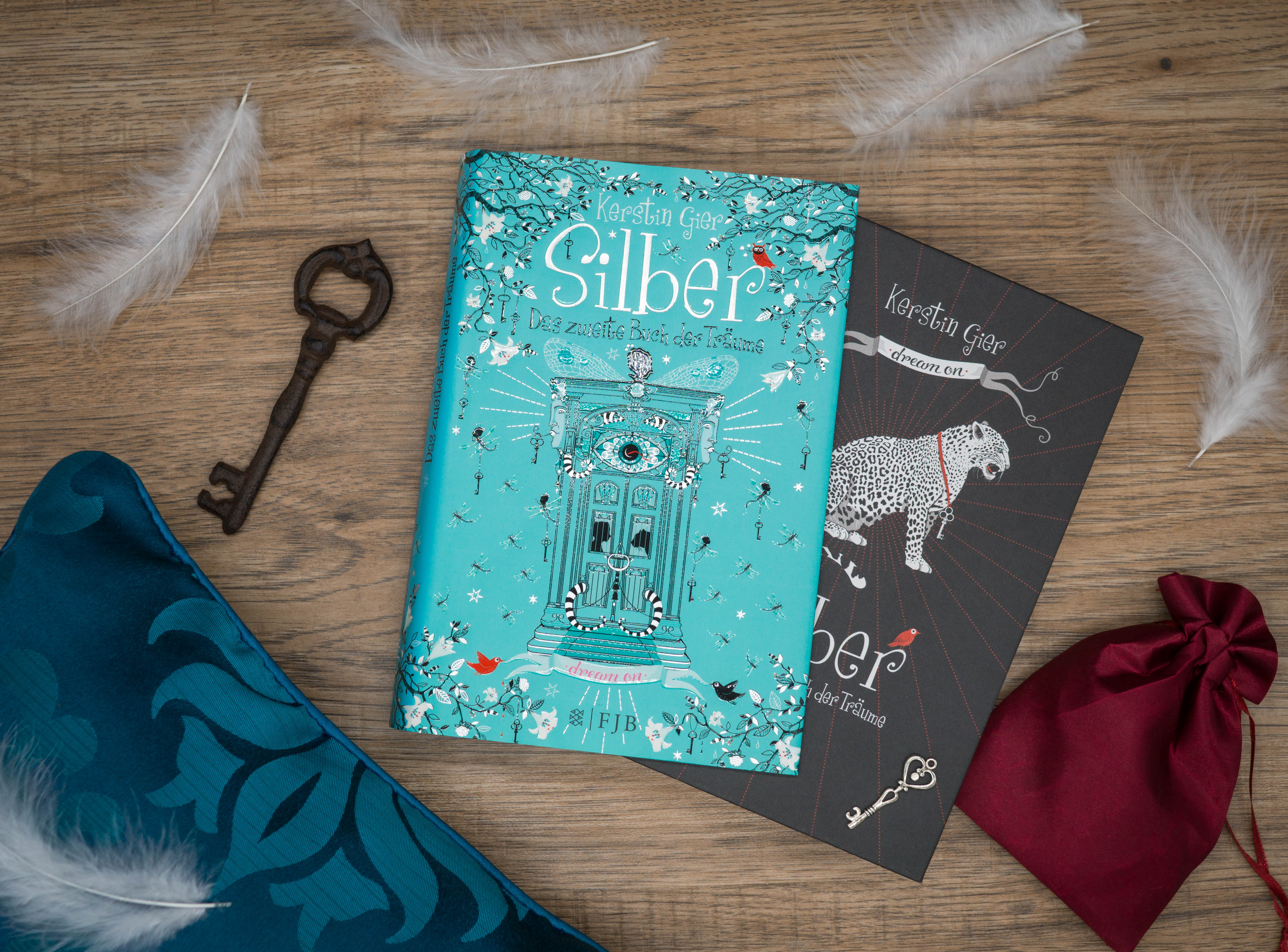 Silber: Das zweite Buch der Träume – Kerstin Gier graphic