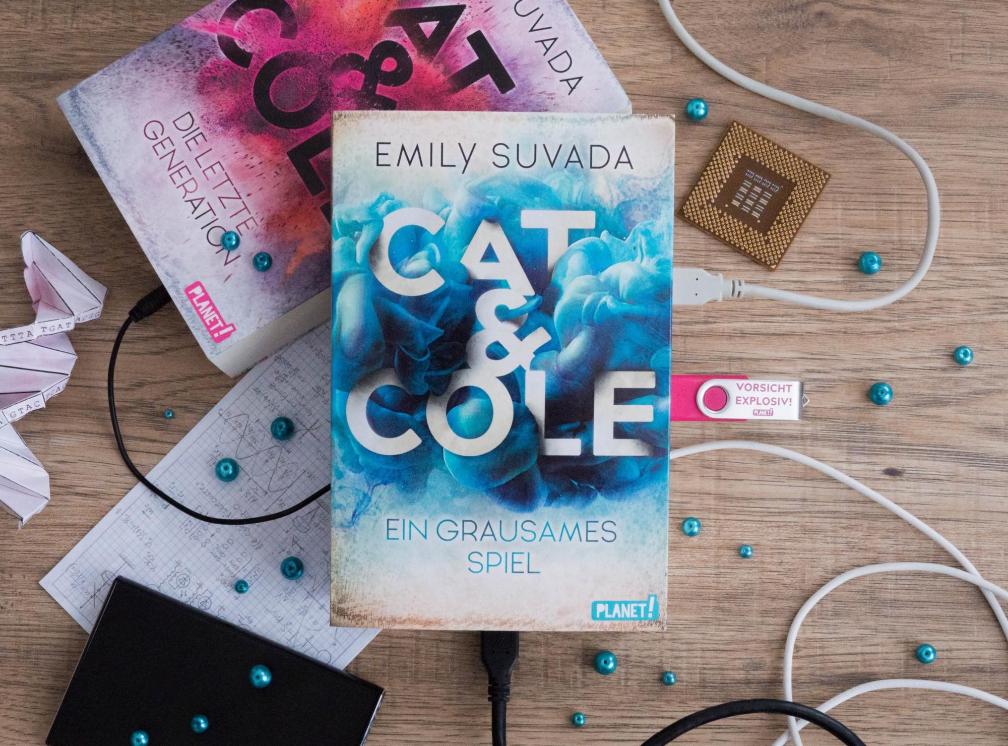 Cat & Cole: Ein grausames Spiel – Emily Suvada graphic