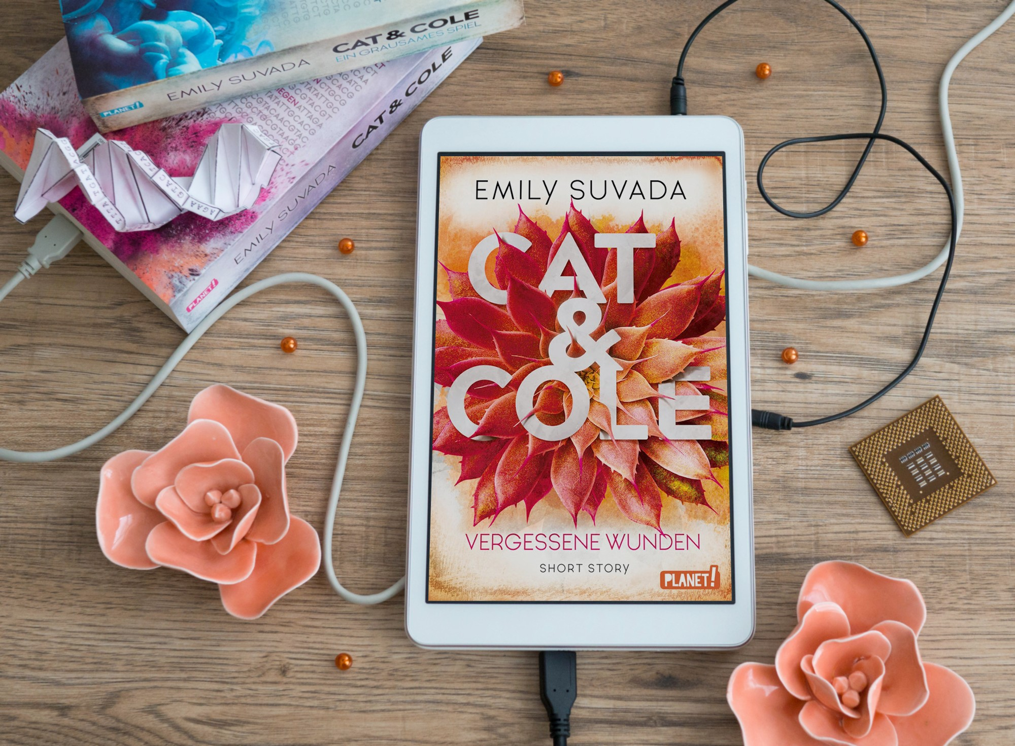 Cat & Cole: Vergessene Wunden – Emily Suvada graphic