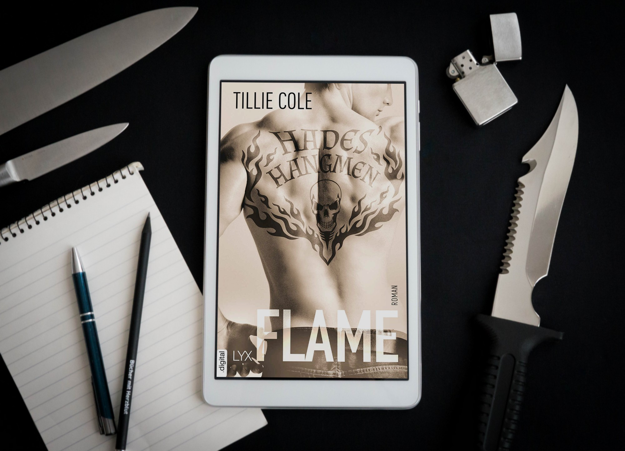 Hades' Hangmen: Flame (Band 3) – Tillie Cole graphic
