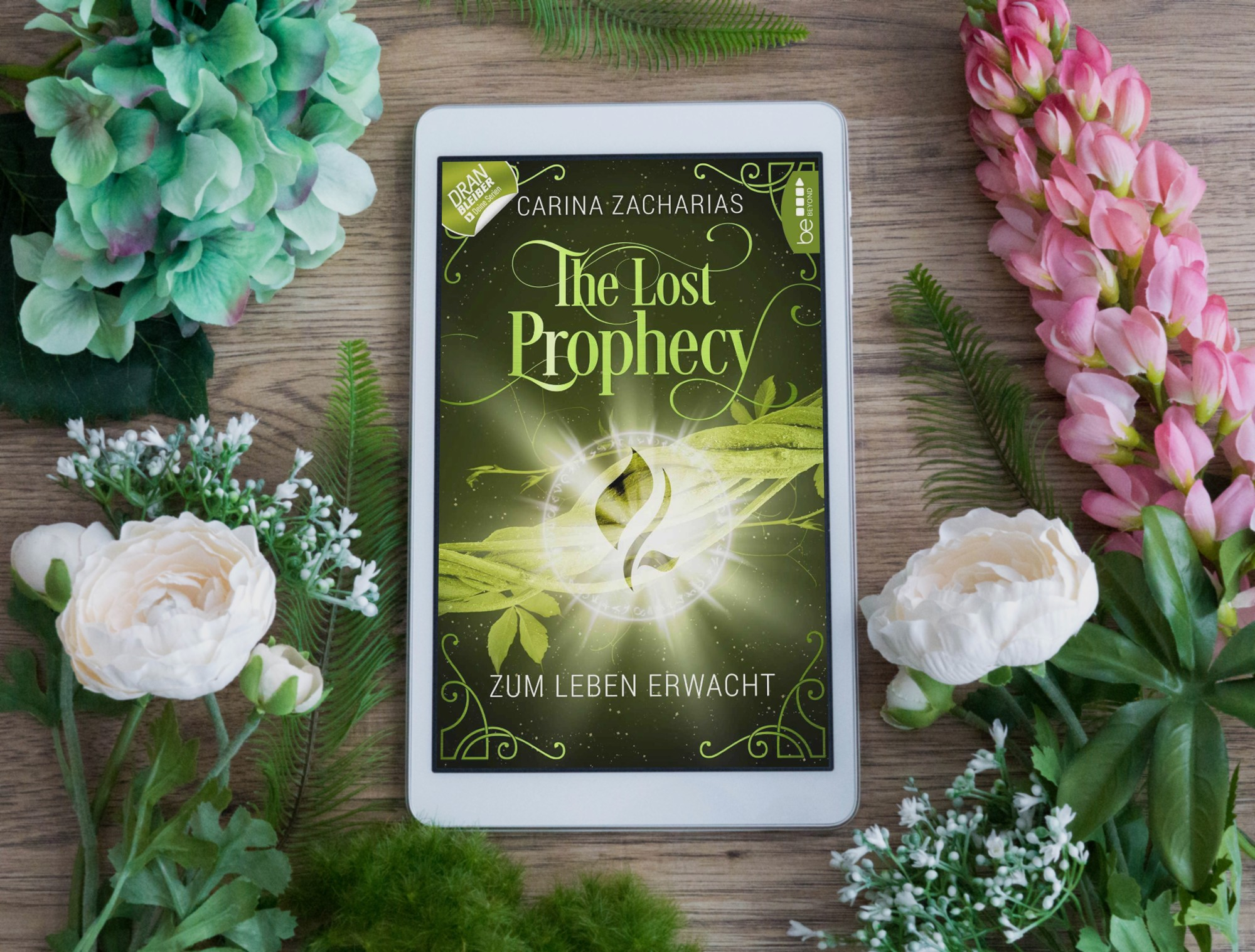 The Lost Prophecy: Zum Leben erwacht – Carina Zacharias graphic
