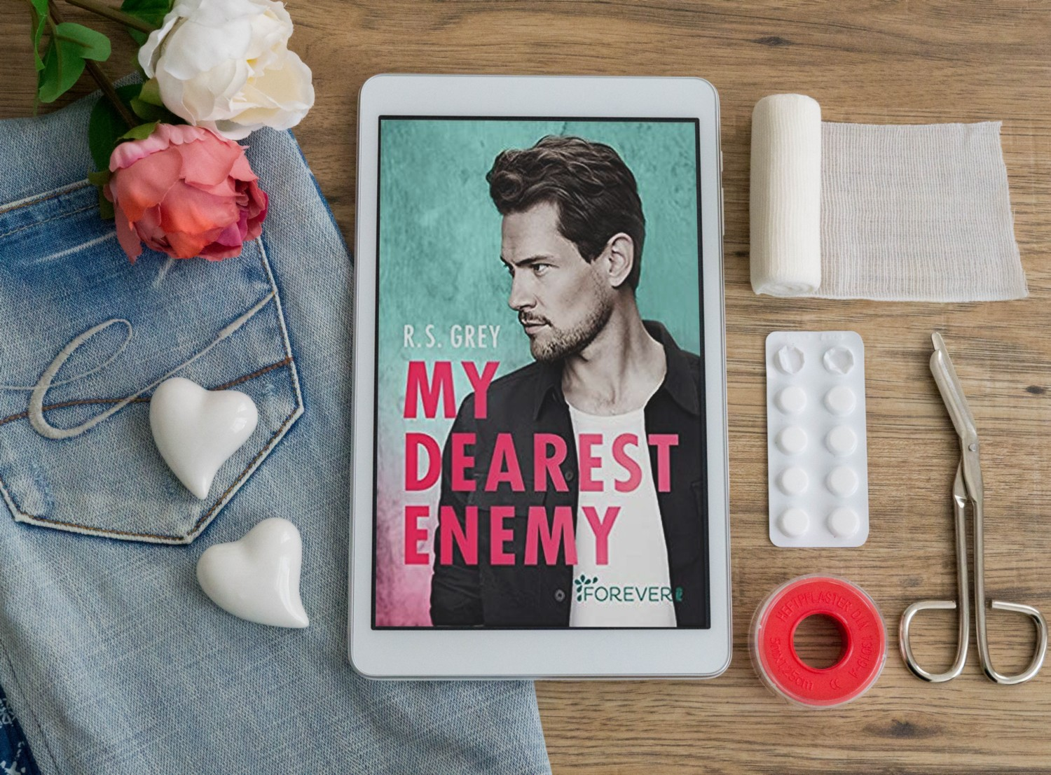 My Dearest Enemy – R. S. Grey graphic