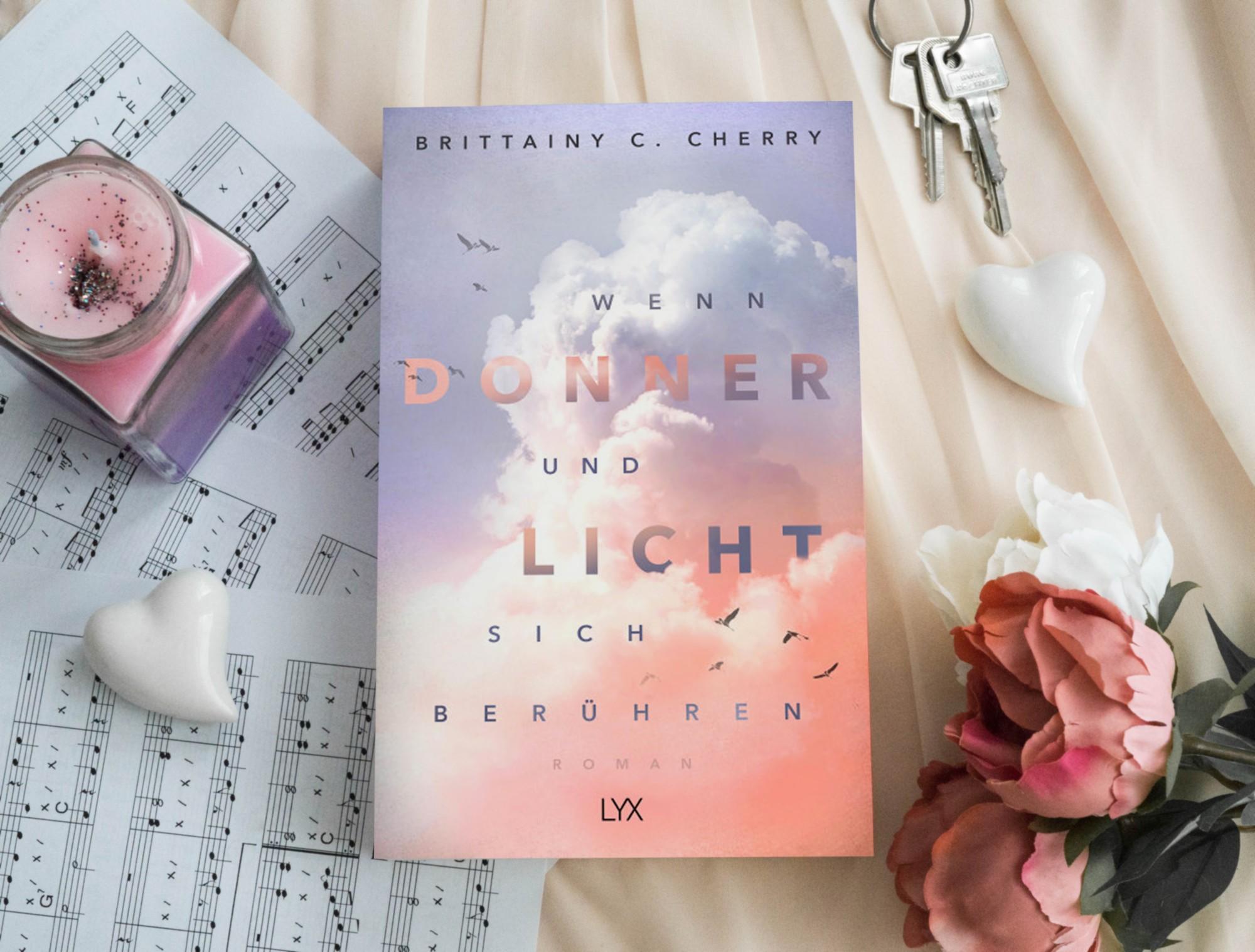 Wenn Donner und Licht sich berühren – Brittainy C. Cherry graphic