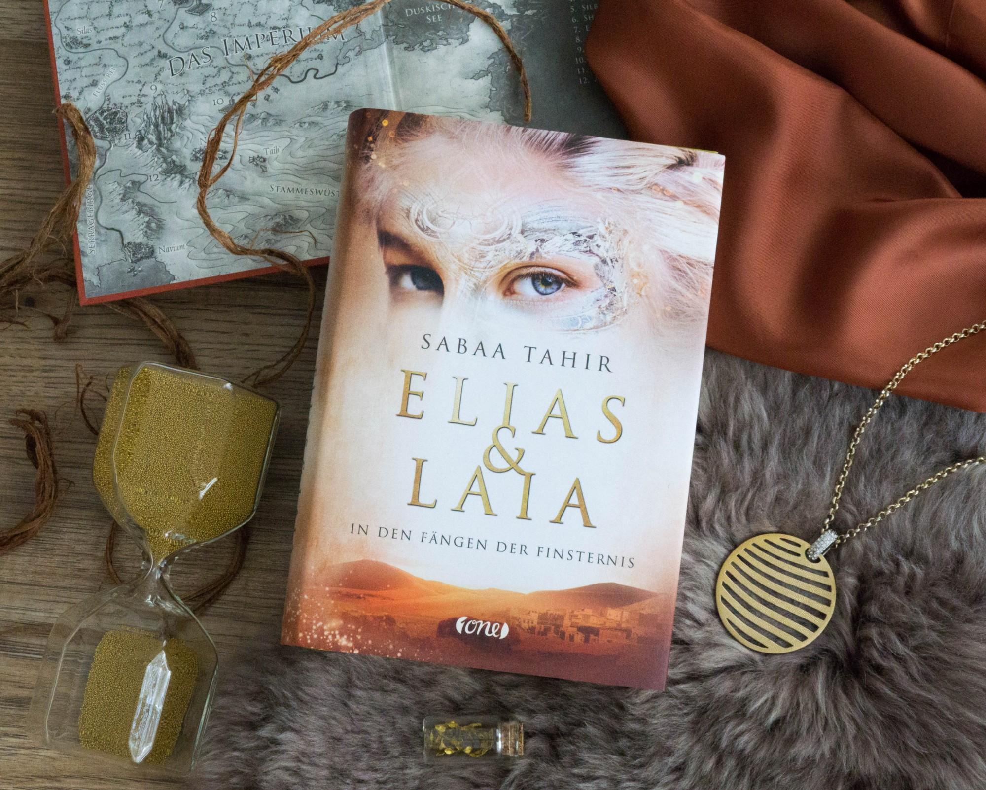 Elias und Laia 3: In den Fängen der Finsternis – Sabaa Tahir graphic