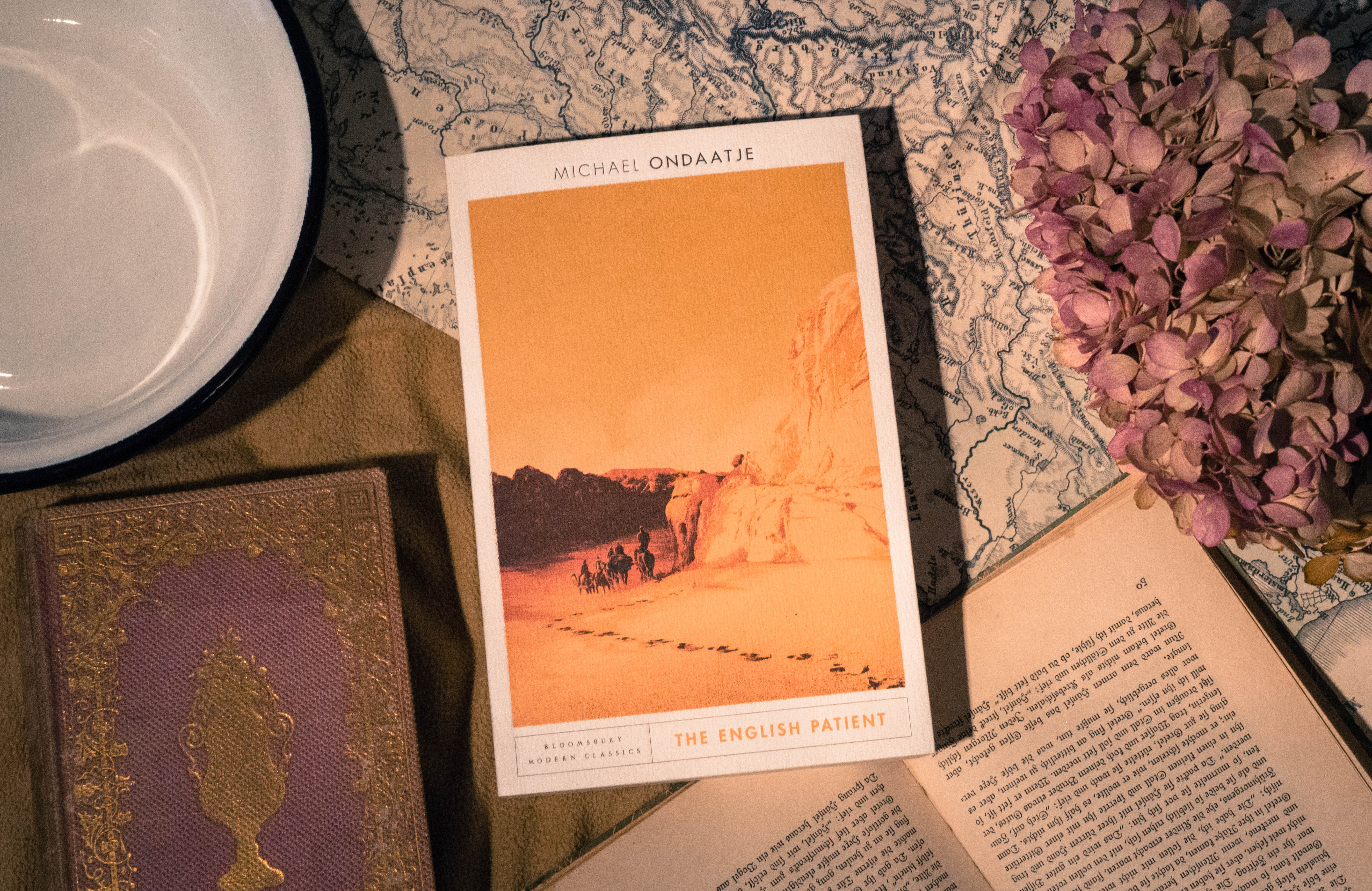 The English Patient – Michael Ondaatje graphic