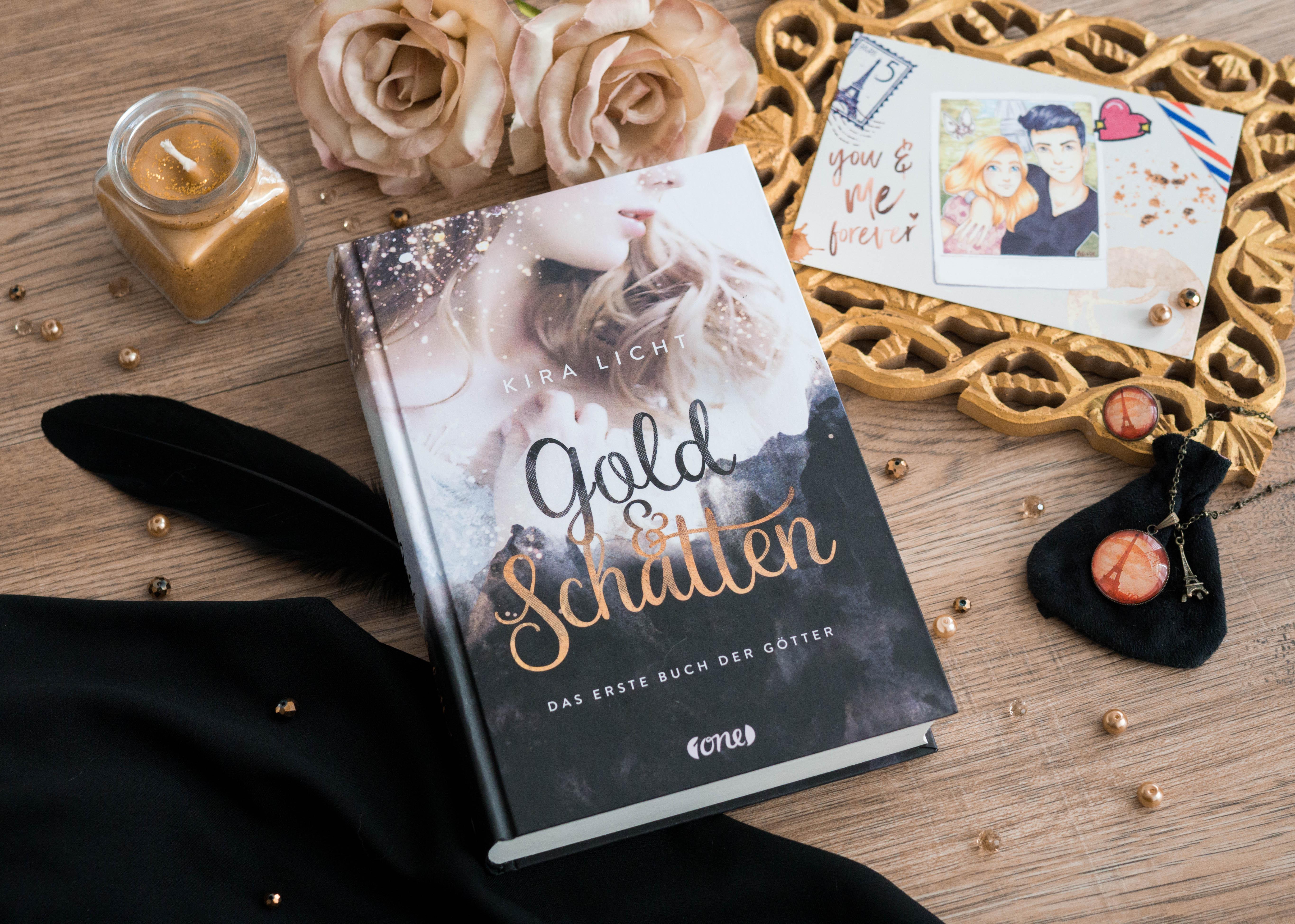 Gold & Schatten: Das erste Buch der Götter – Kira Licht graphic