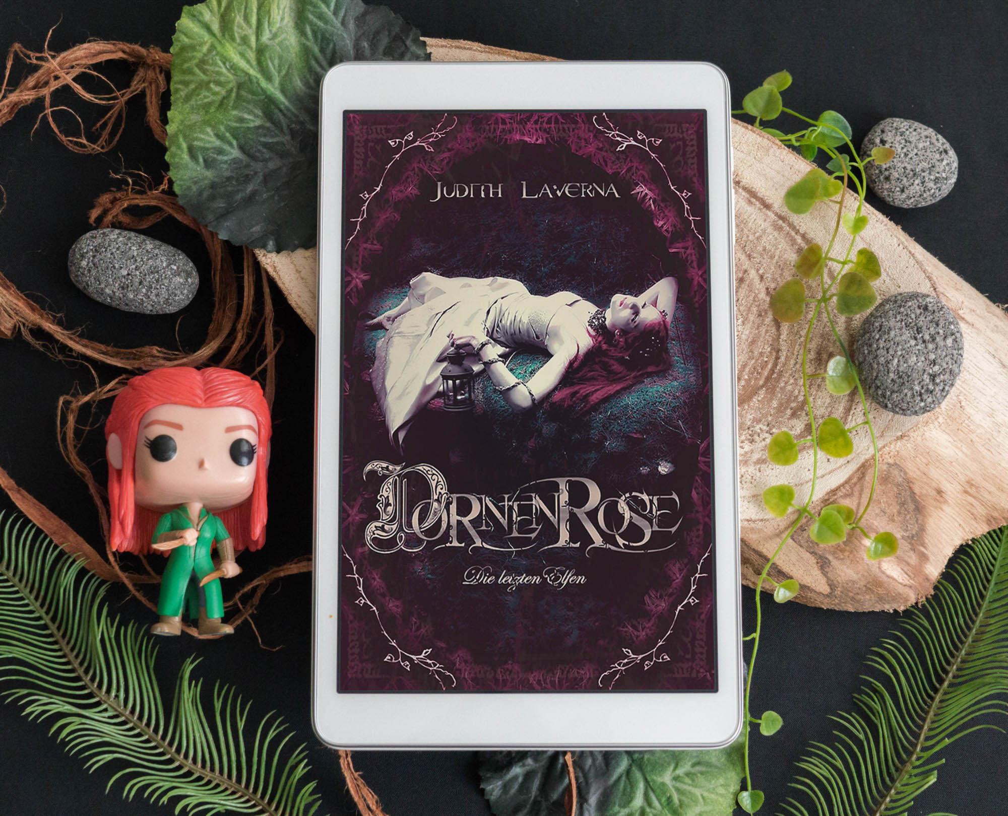 Dornenrose (Die letzten Elfen 1) – Judith Laverna graphic