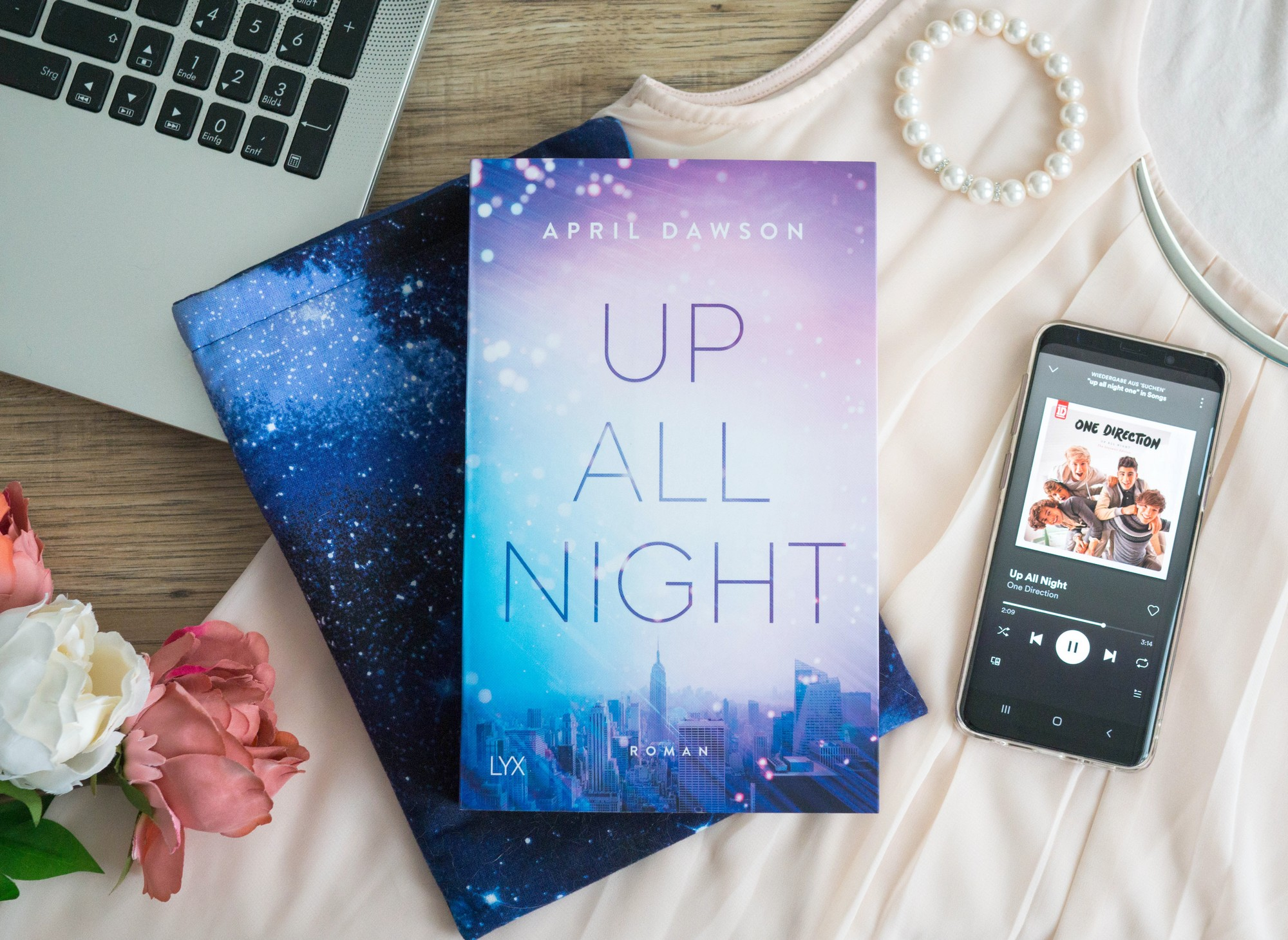 Up All Night – April Dawson graphic