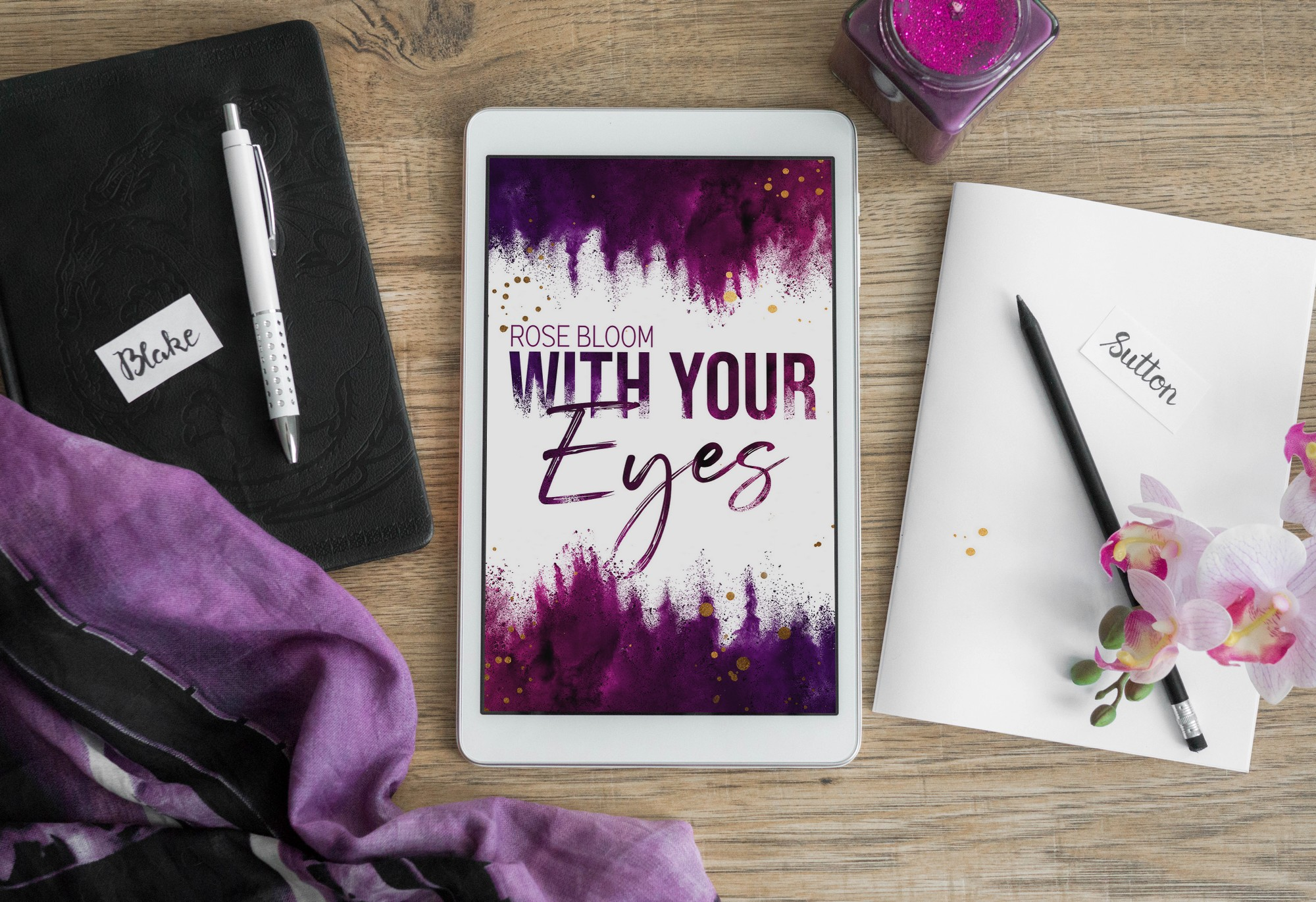 With Your Eyes – Rose Bloom