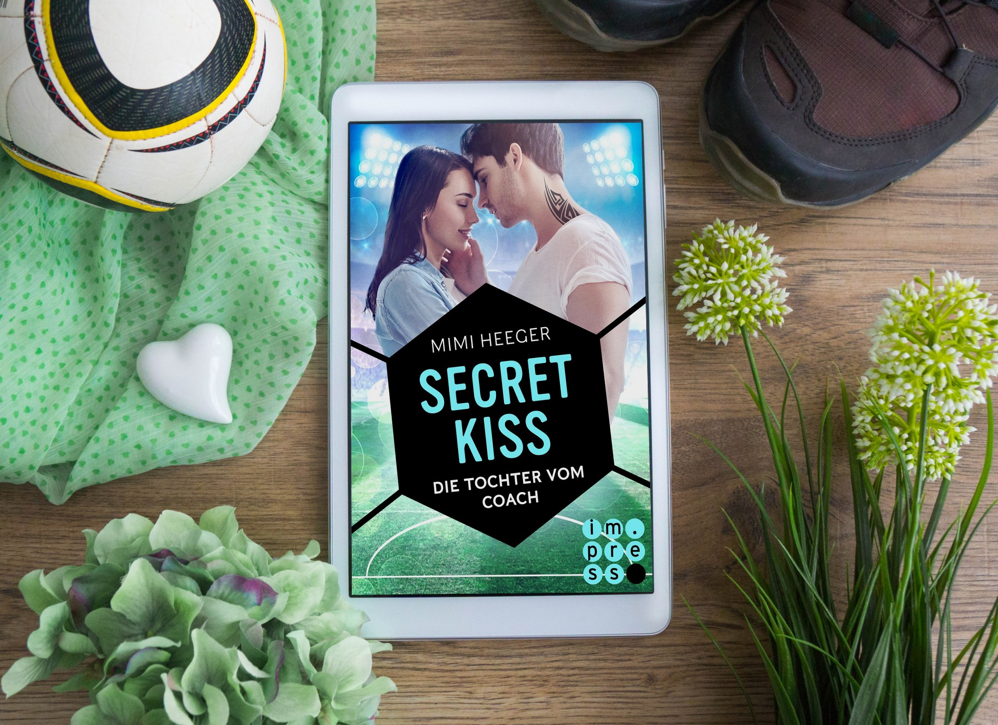 Secret Kiss: Die Tochter vom Coach – Mimi Heeger graphic