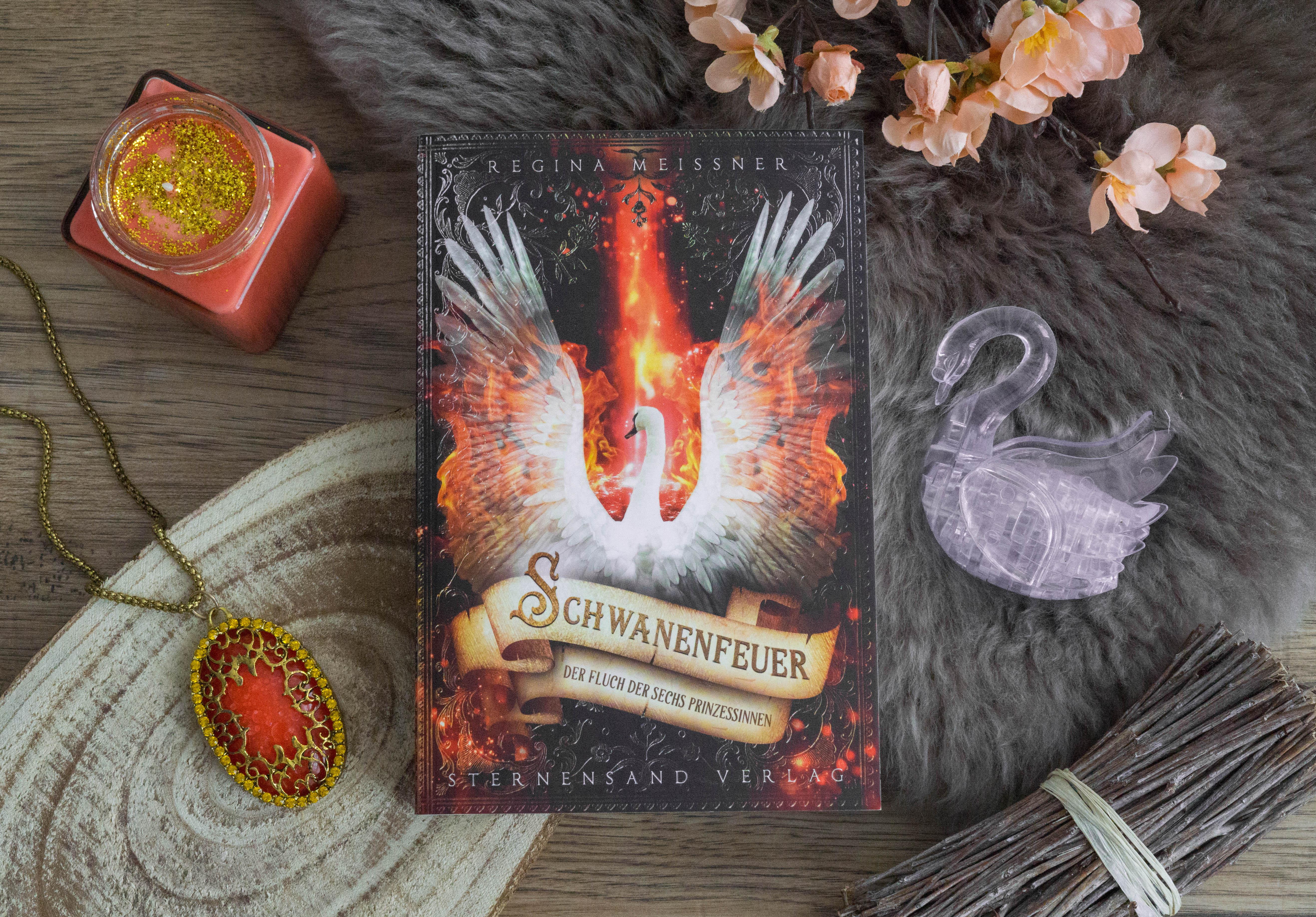 Der Fluch der sechs Prinzessinnen: Schwanenfeuer – Regina Meißner graphic