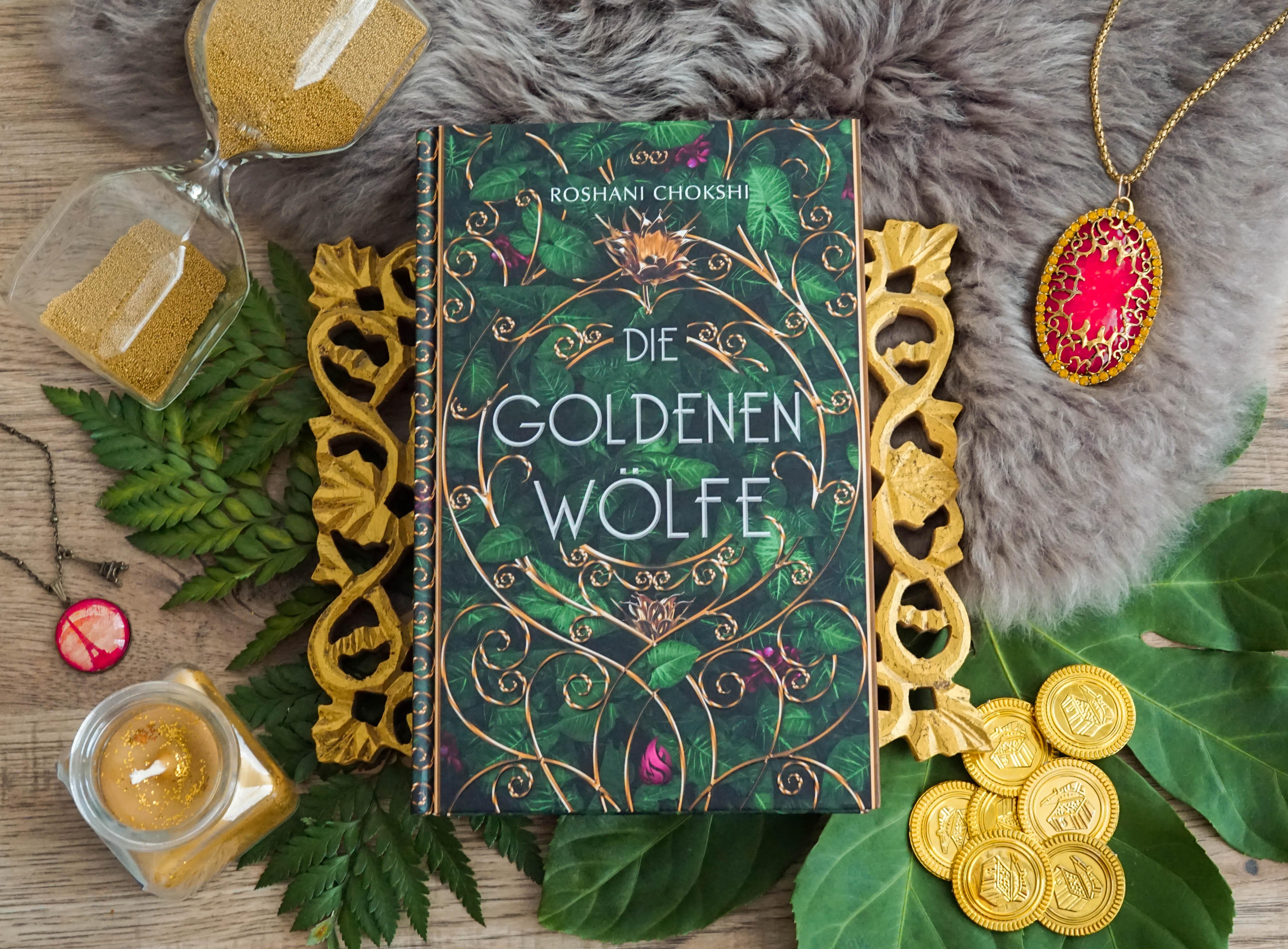 Die goldenen Wölfe – Roshani Chokshi graphic