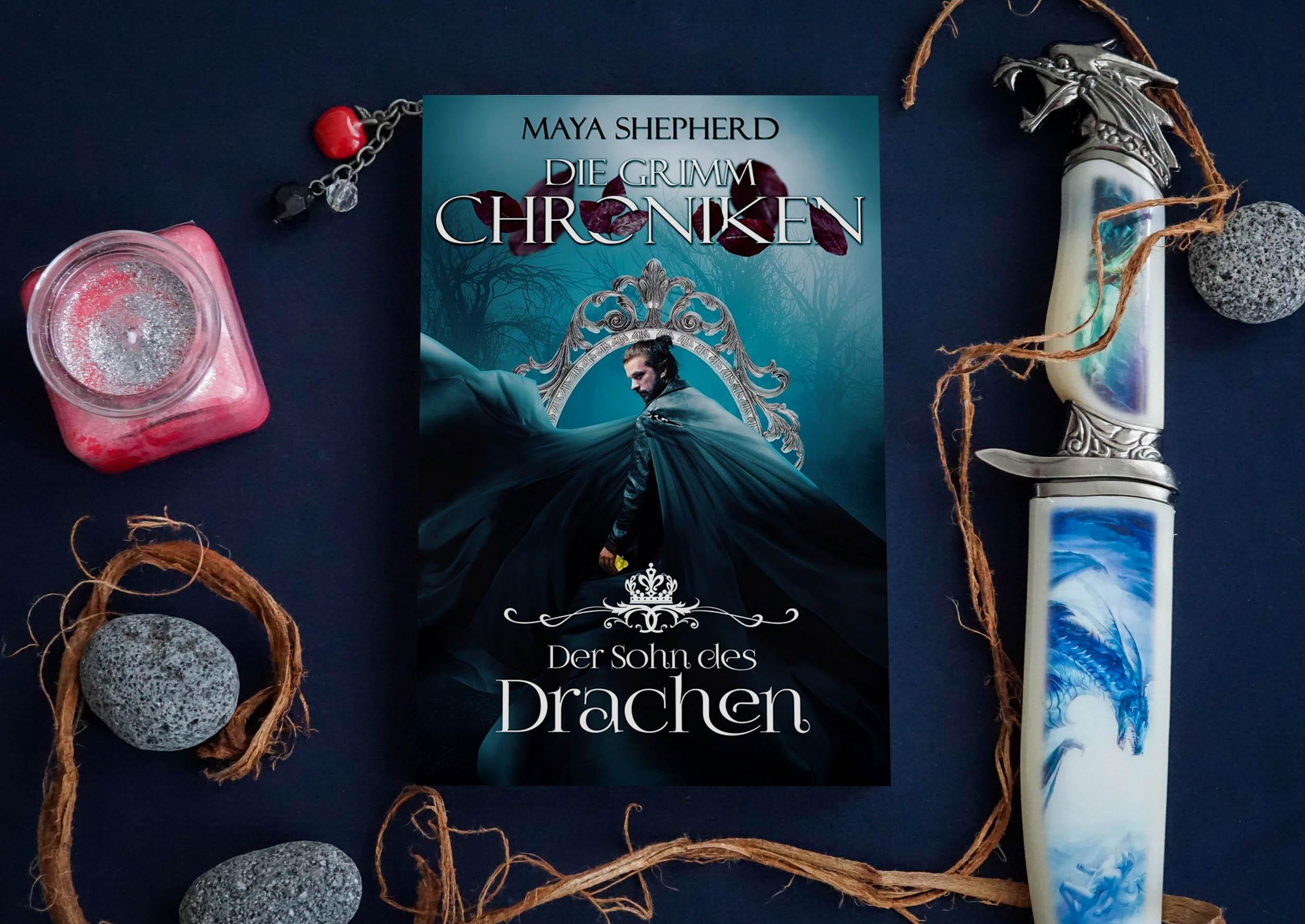 Die Grimm-Chroniken: Der Sohn des Drachen – Maya Shepherd graphic
