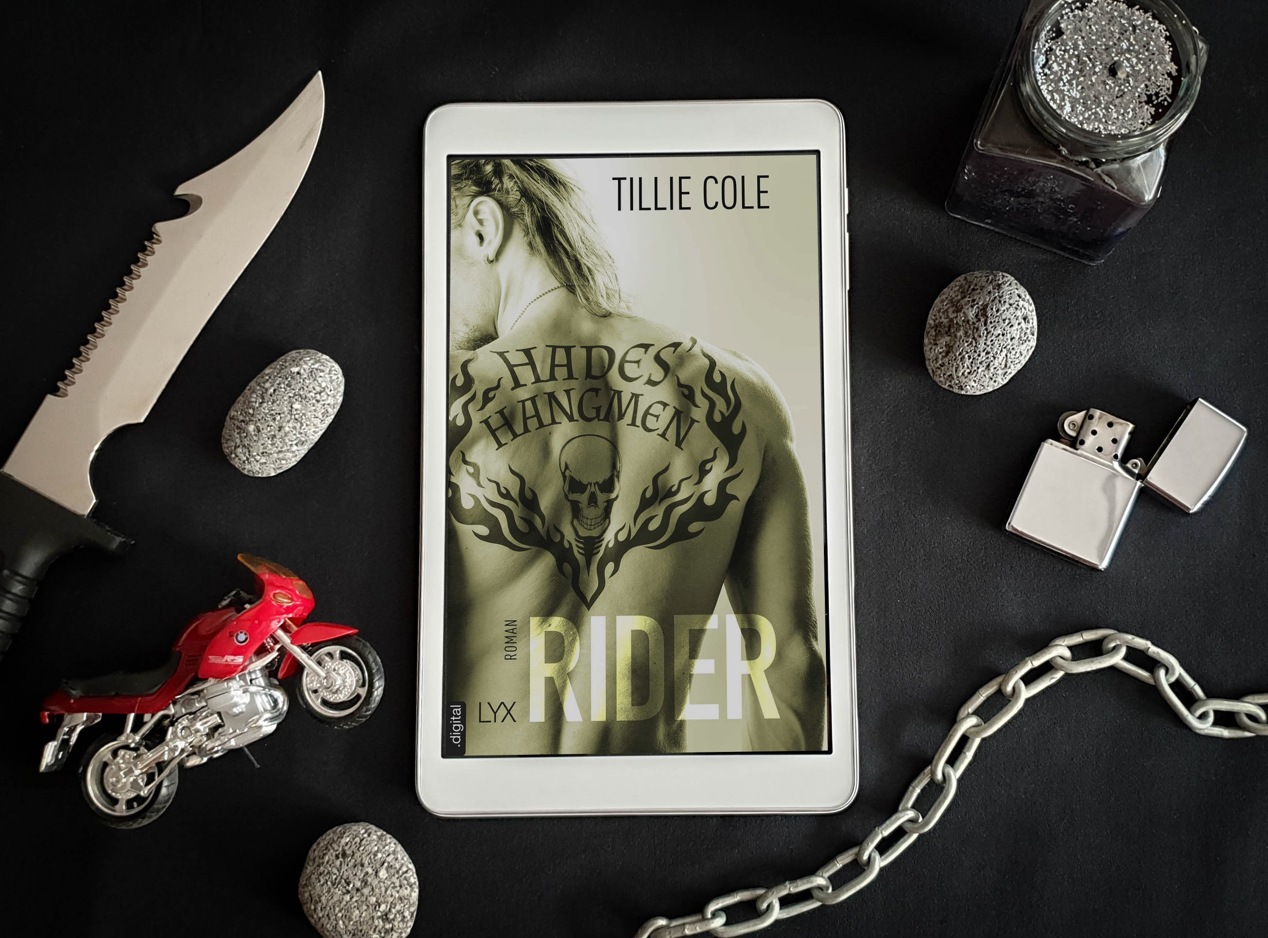Hades' Hangmen: Rider (Band 4) – Tillie Cole graphic