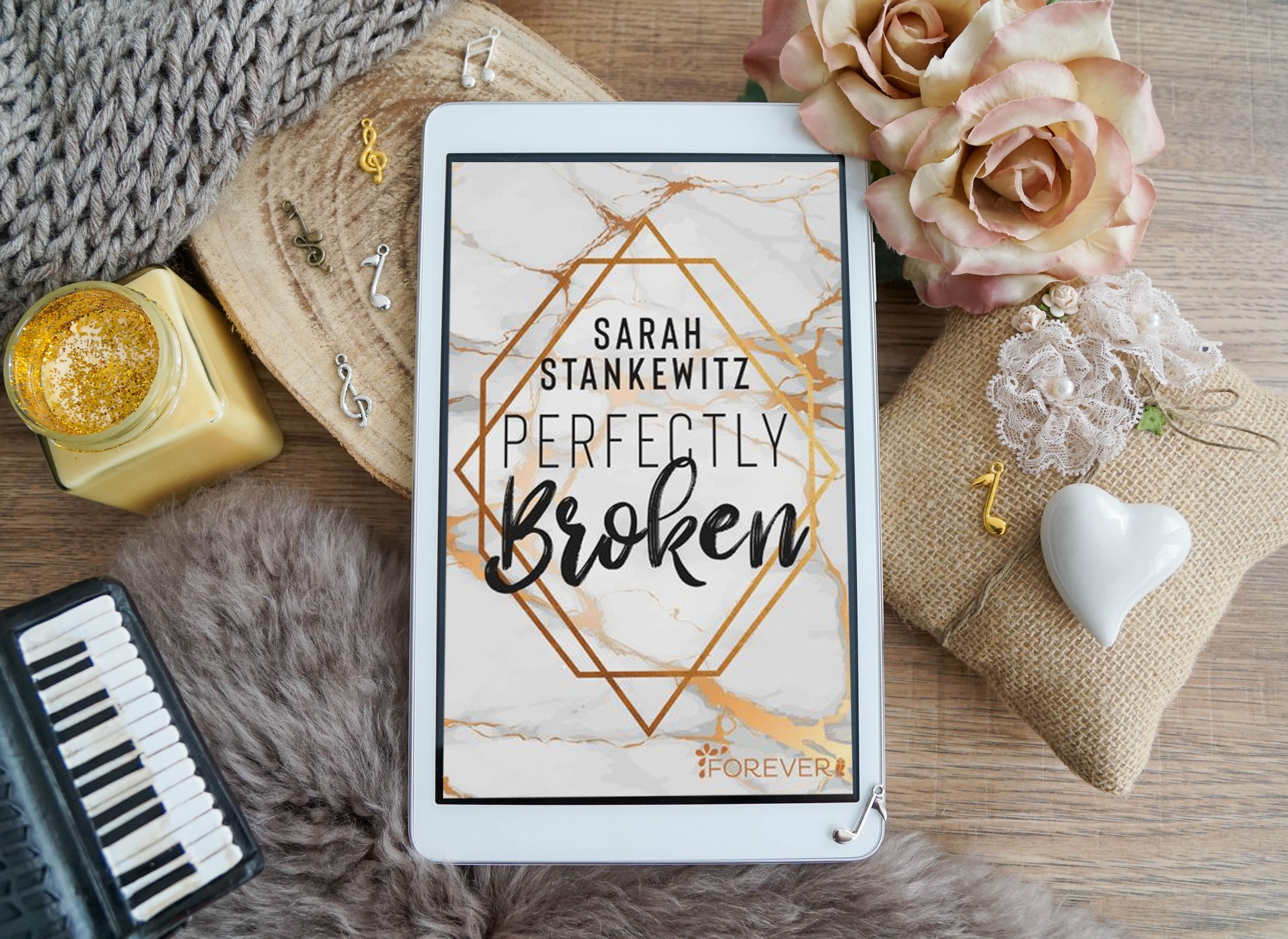 Perfectly Broken – Sarah Stankewitz graphic