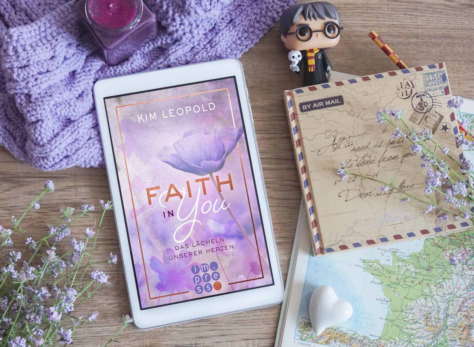 Faith in you: Das Lächeln unserer Herzen – Kim Leopold graphic