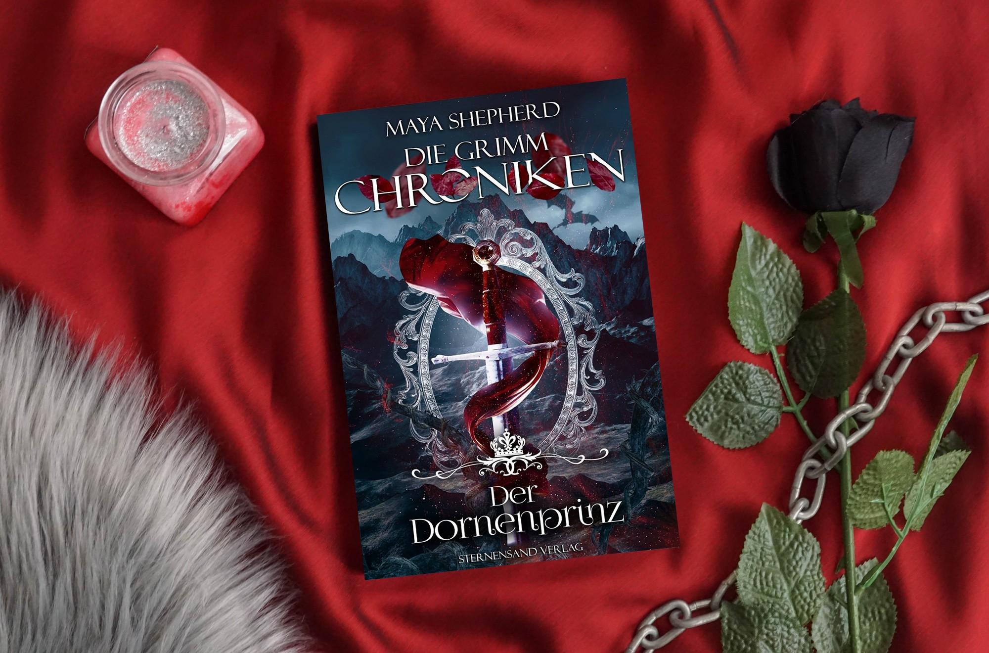 Die Grimm-Chroniken: Der Dornenprinz – Maya Shepherd graphic