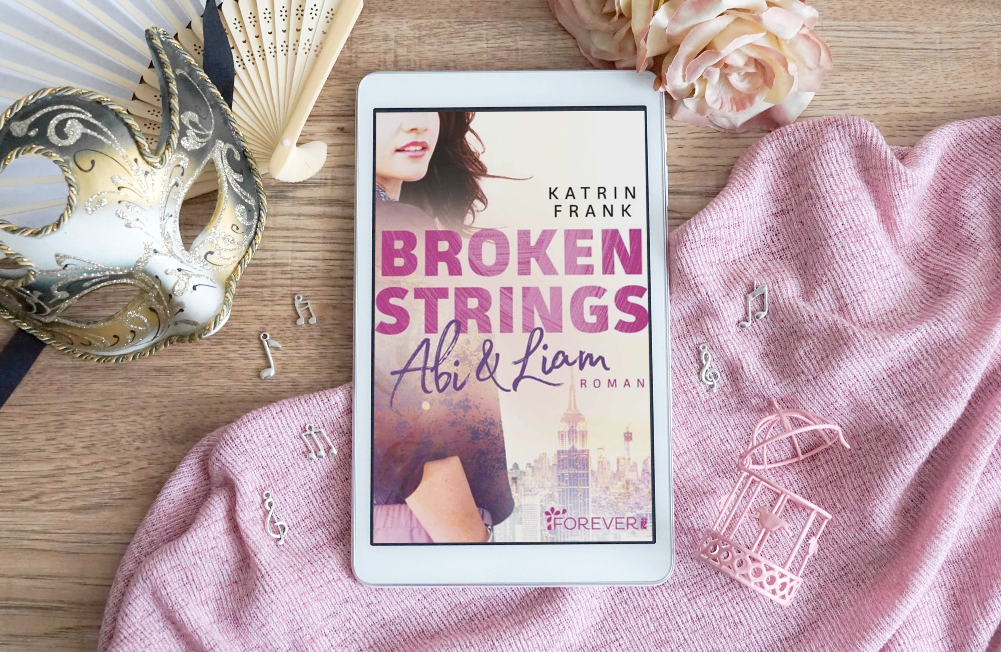 Broken Strings – Katrin Frank graphic