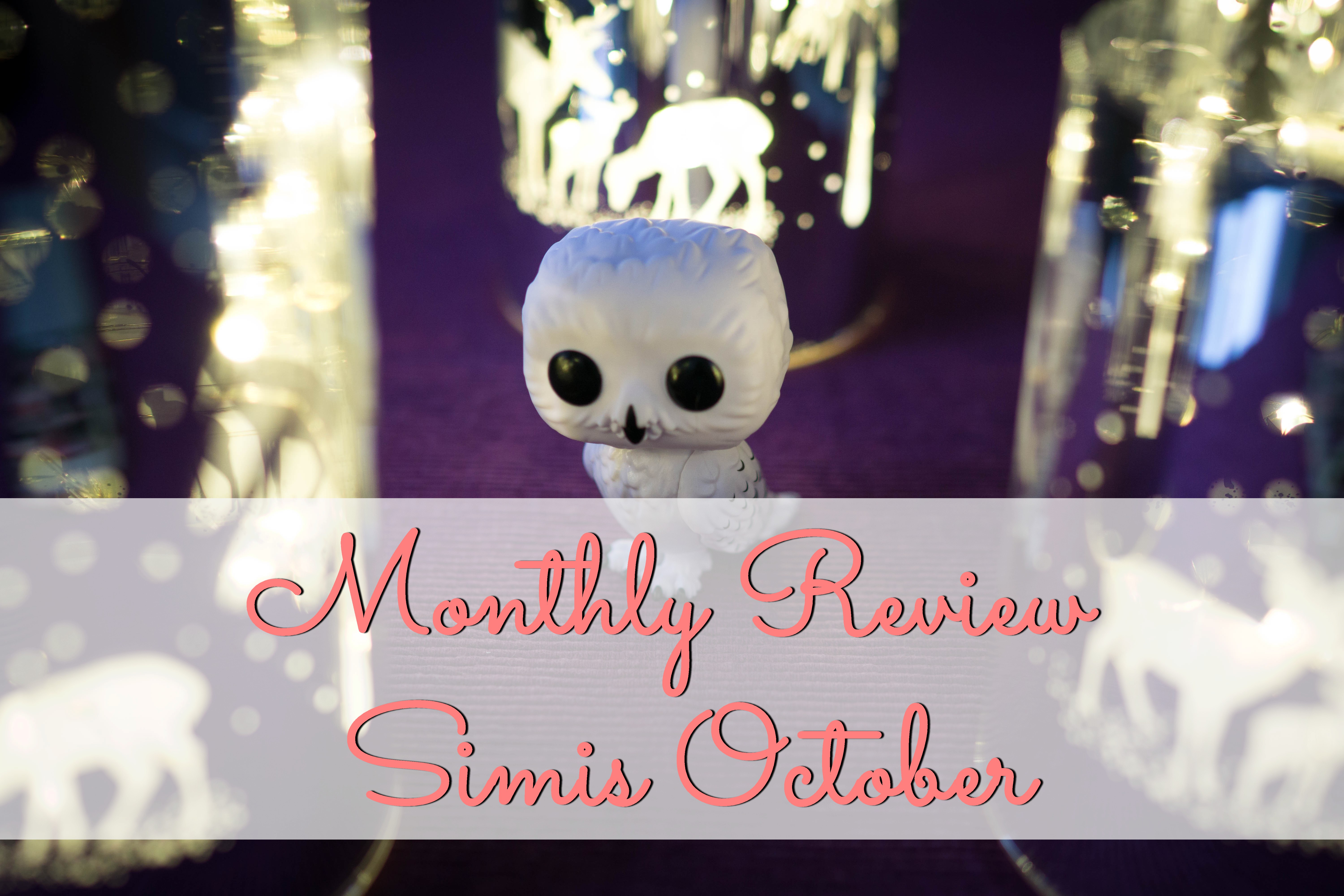 Monthly Review: Simis October graphic