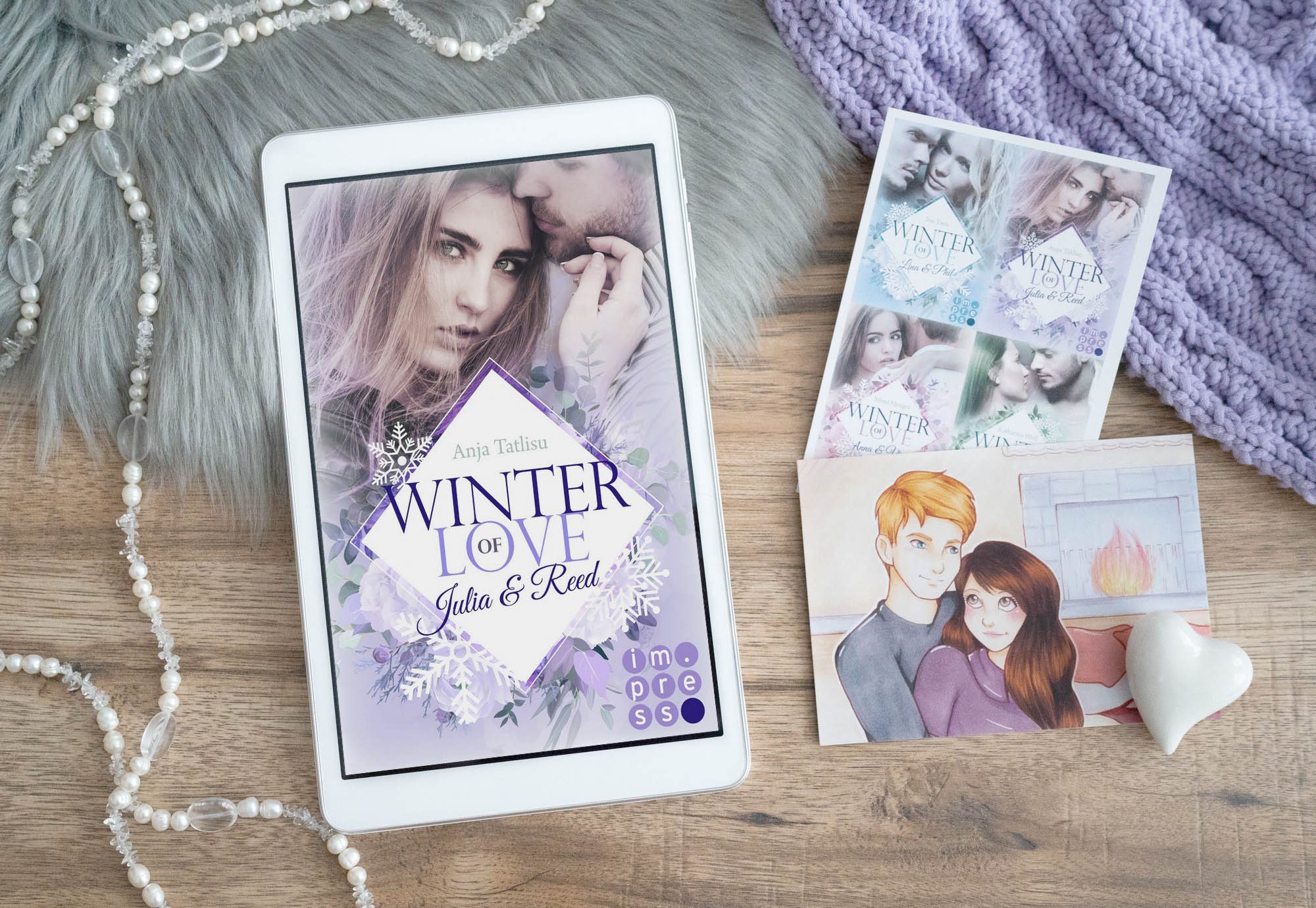 Winter of Love: Julia & Reed – Anja Tatlisu graphic