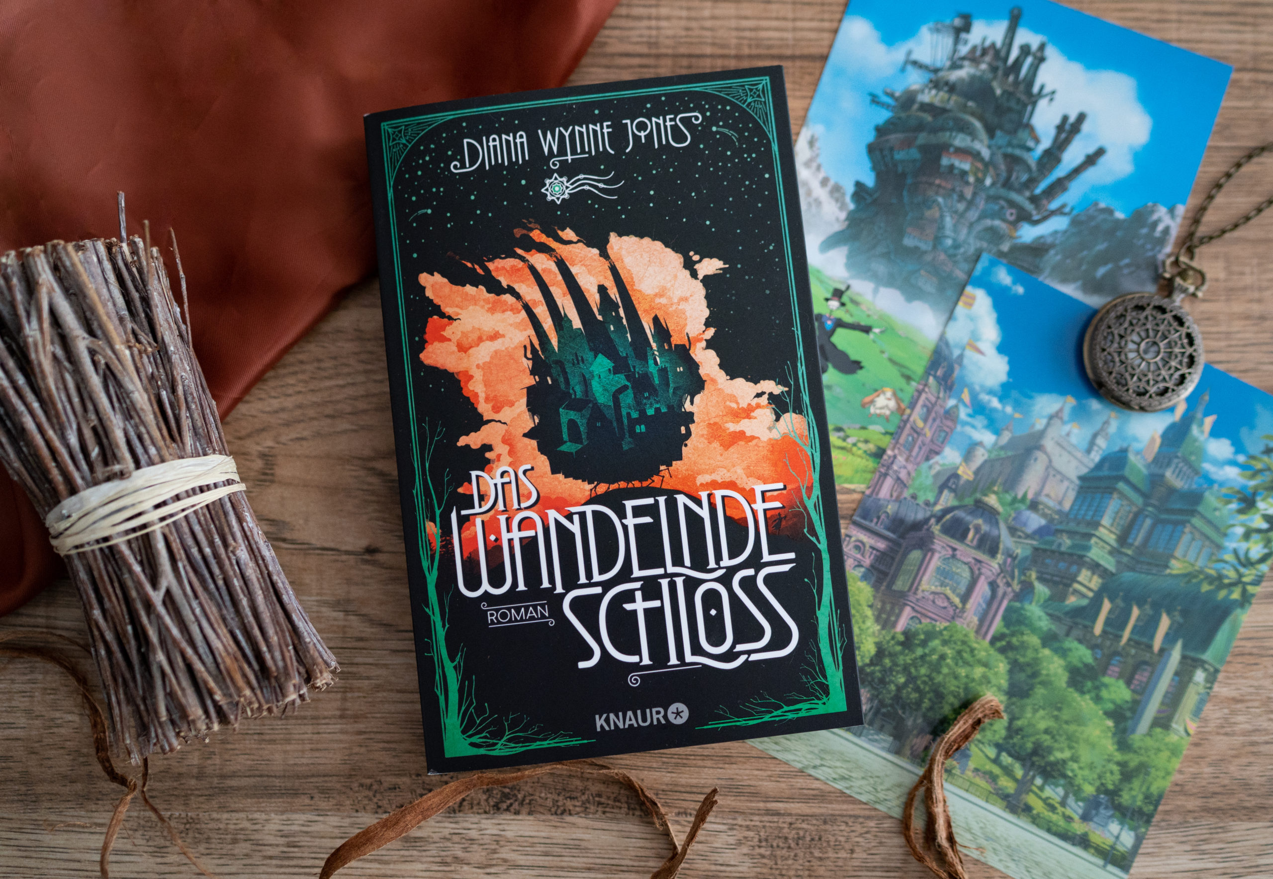 Das wandelnde Schloss – Diana Wynne Jones graphic