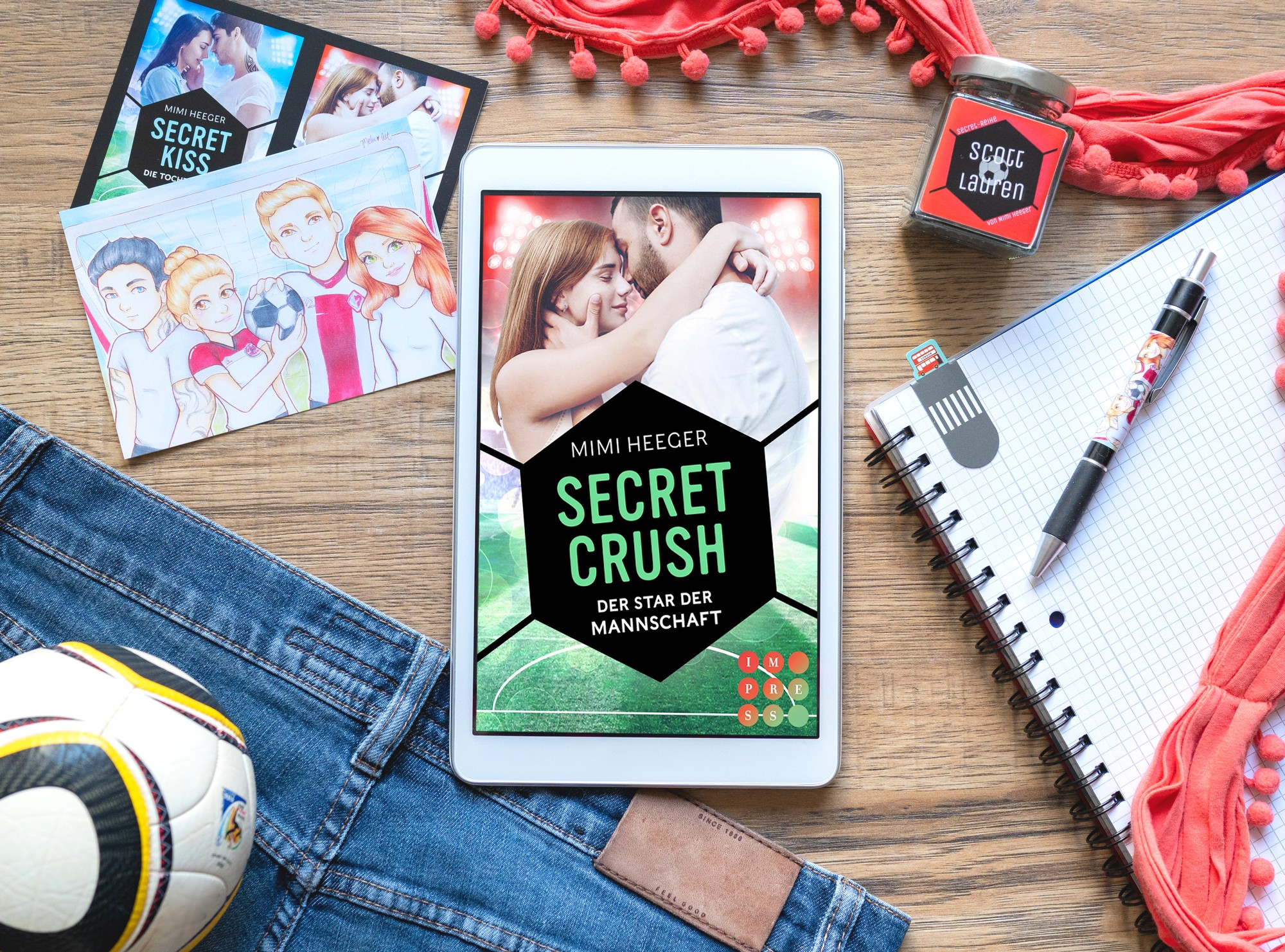 Secret Crush: Der Star der Mannschaft – Mimi Heeger graphic