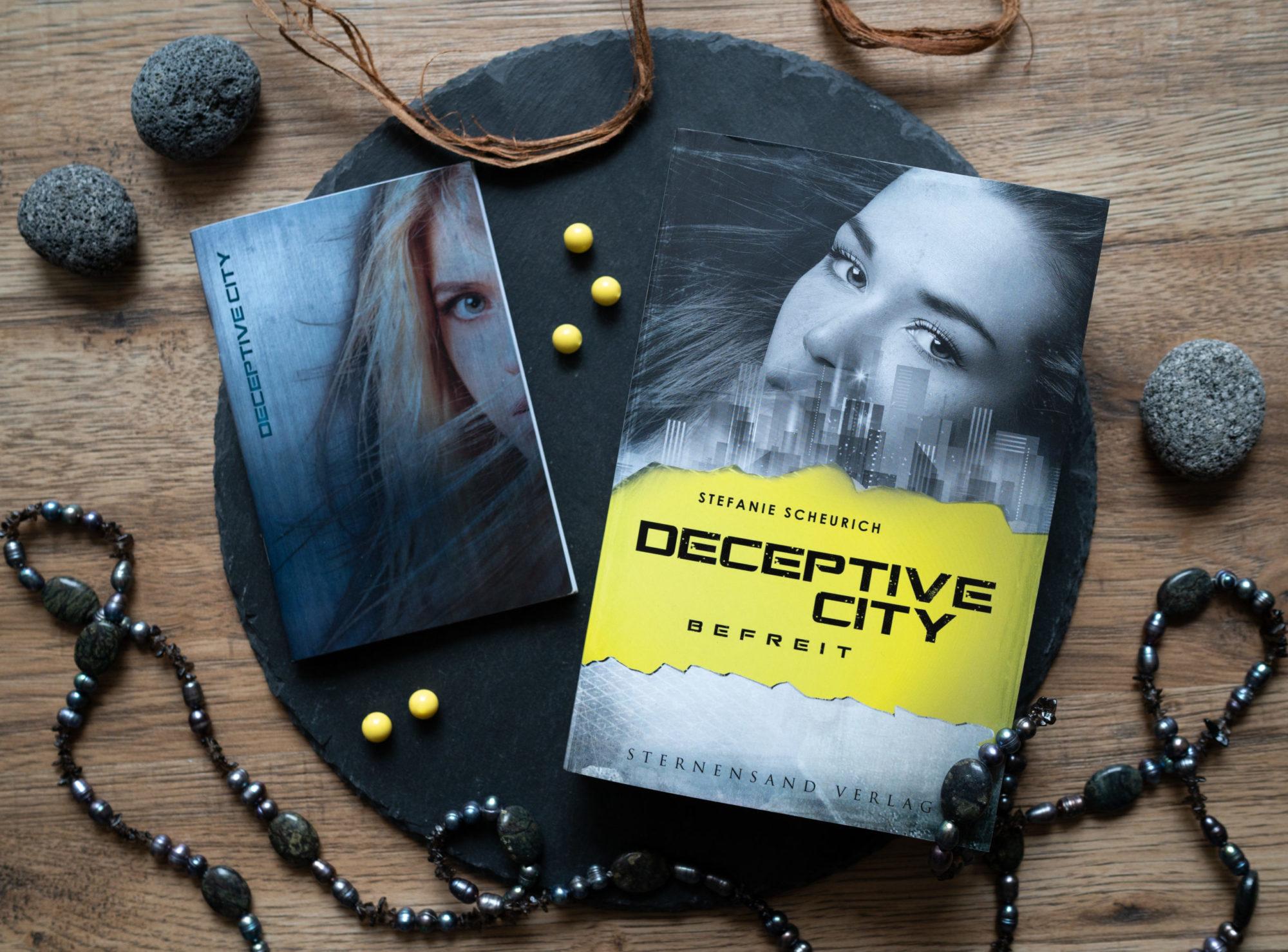 Deceptive City: Befreit – Stefanie Scheurich graphic