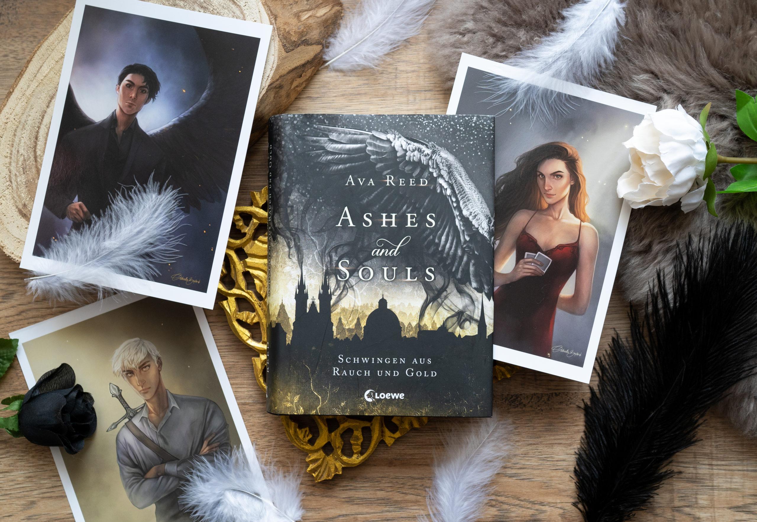Ashes and Souls: Schwingen aus Rauch und Gold – Ava Reed graphic