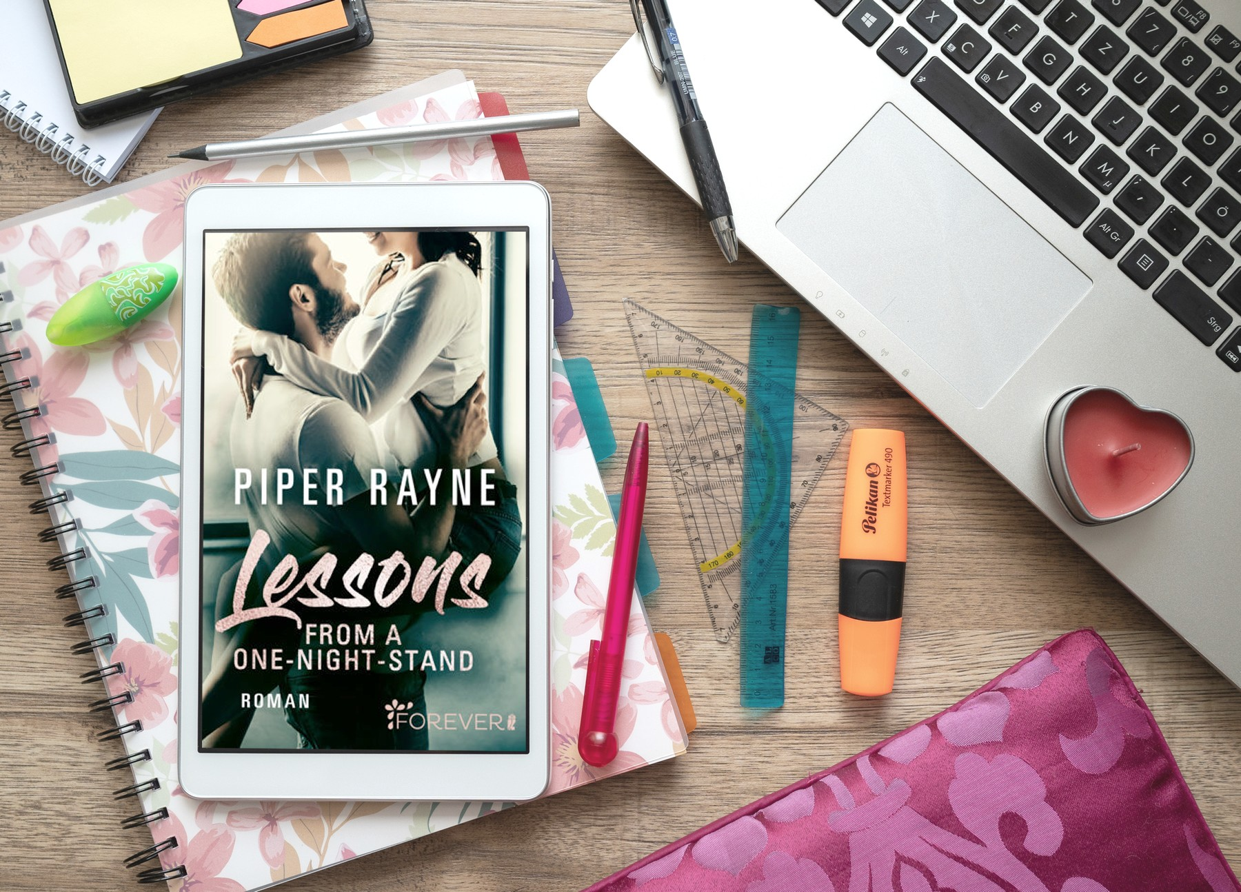 Lessons from a One-Night-Stand – Piper Rayne graphic