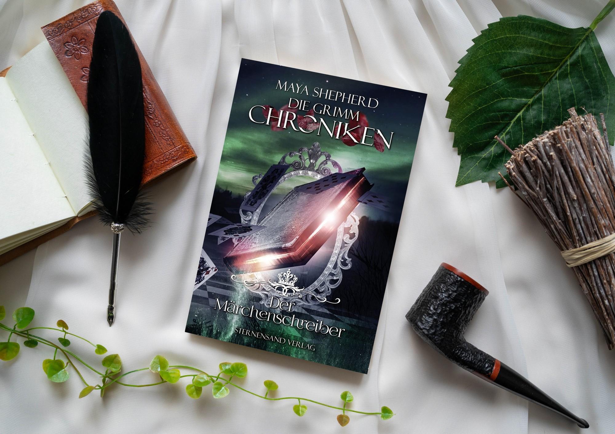 Die Grimm-Chroniken: Der Märchenschreiber – Maya Shepherd graphic