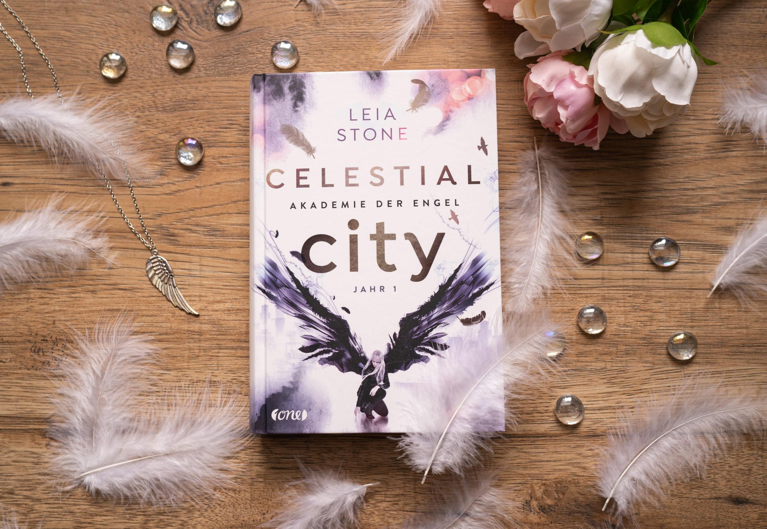 Celestial City: Akademie der Engel 1 – Leia Stone graphic