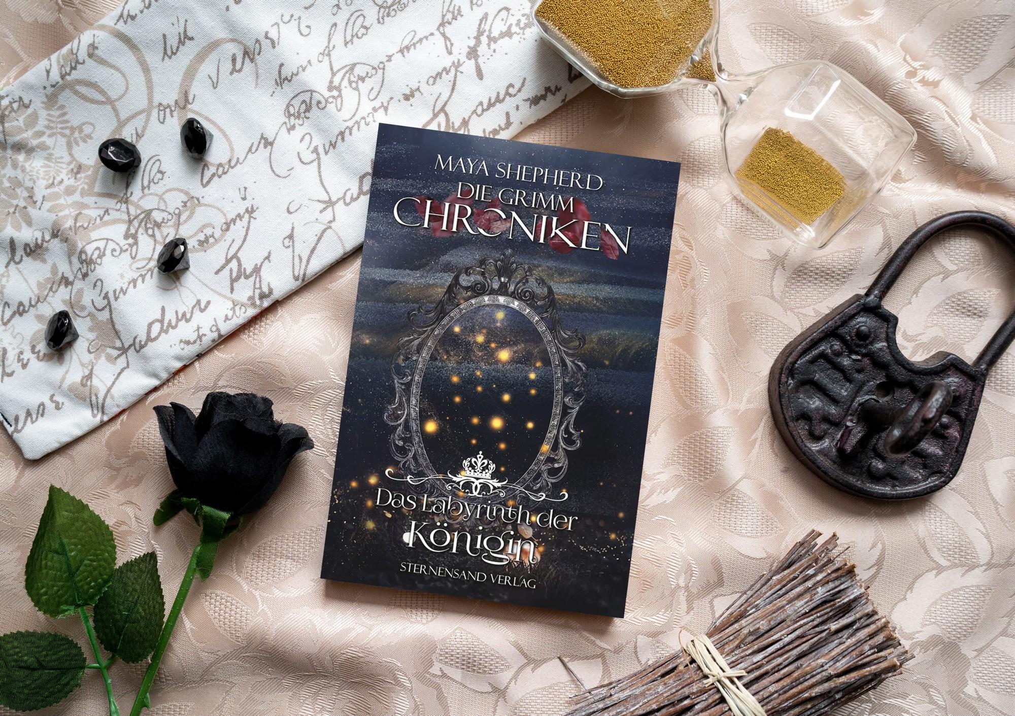 Die Grimm-Chroniken: Das Labyrinth der Königin – Maya Shepherd graphic